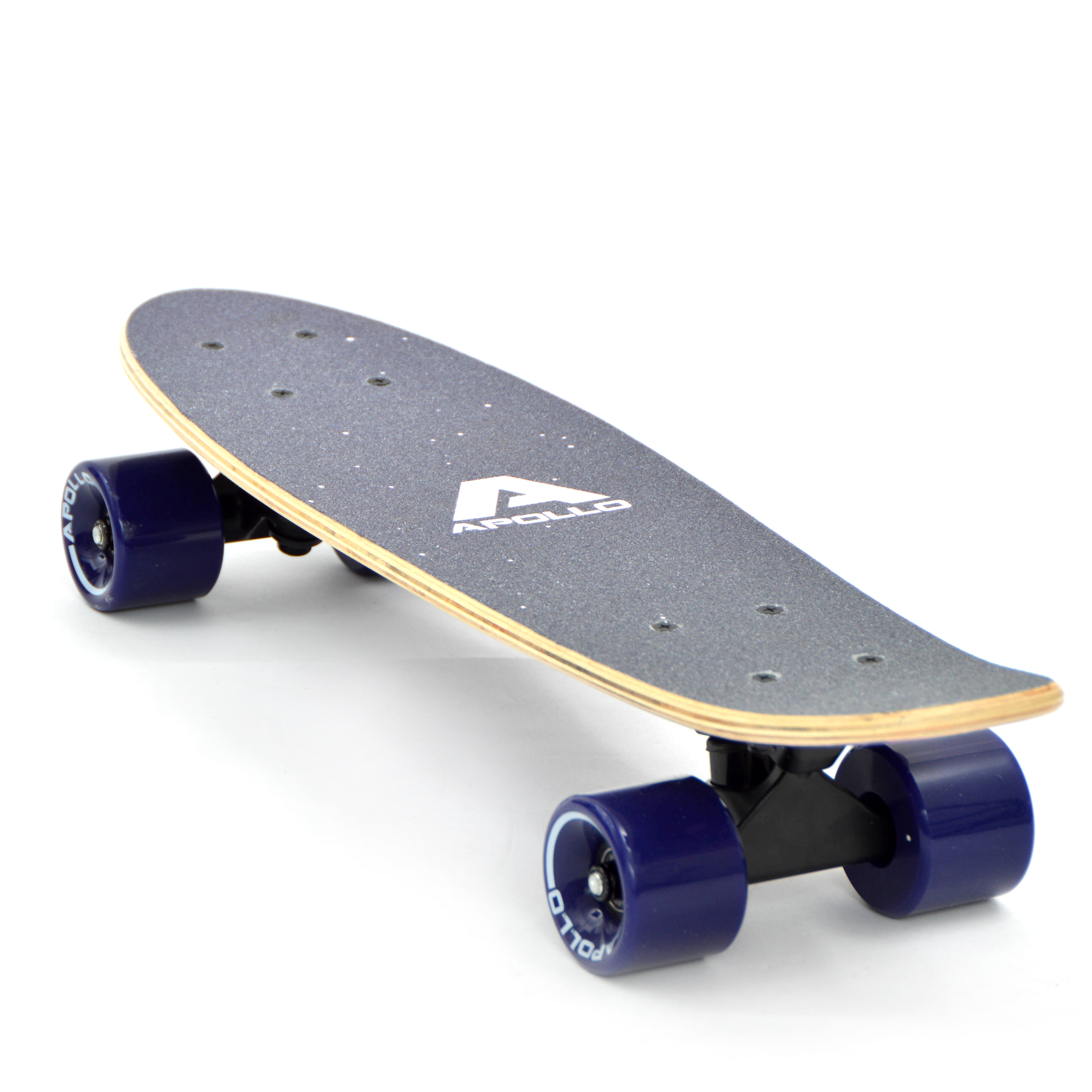 apollo vintage retro wood minicruiser skateboard. Black Bedroom Furniture Sets. Home Design Ideas