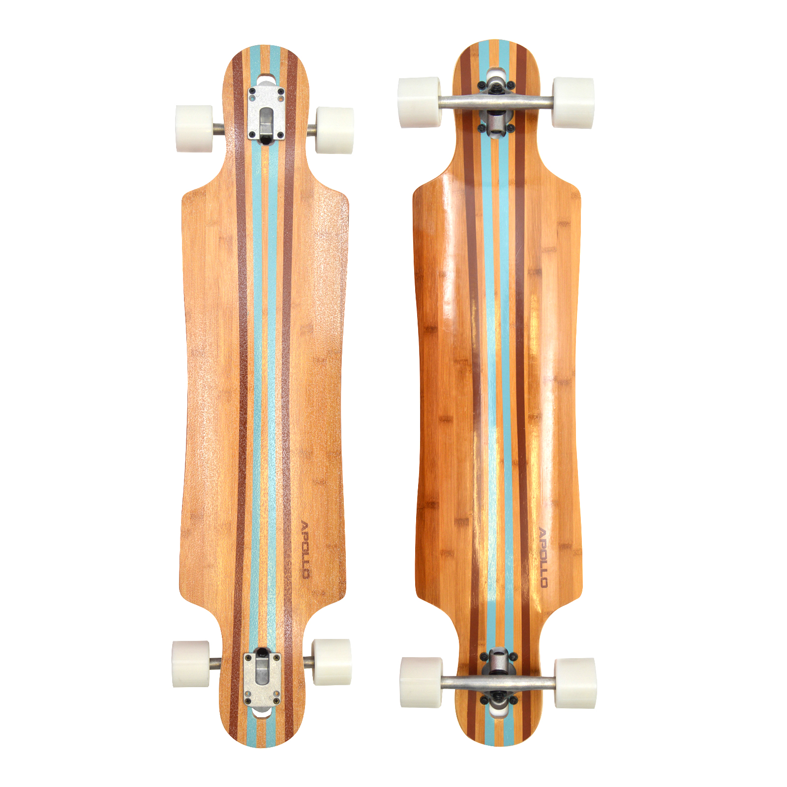 apollo longboard komplettboard skateboard mit high speed abec kugellagern flex ebay. Black Bedroom Furniture Sets. Home Design Ideas