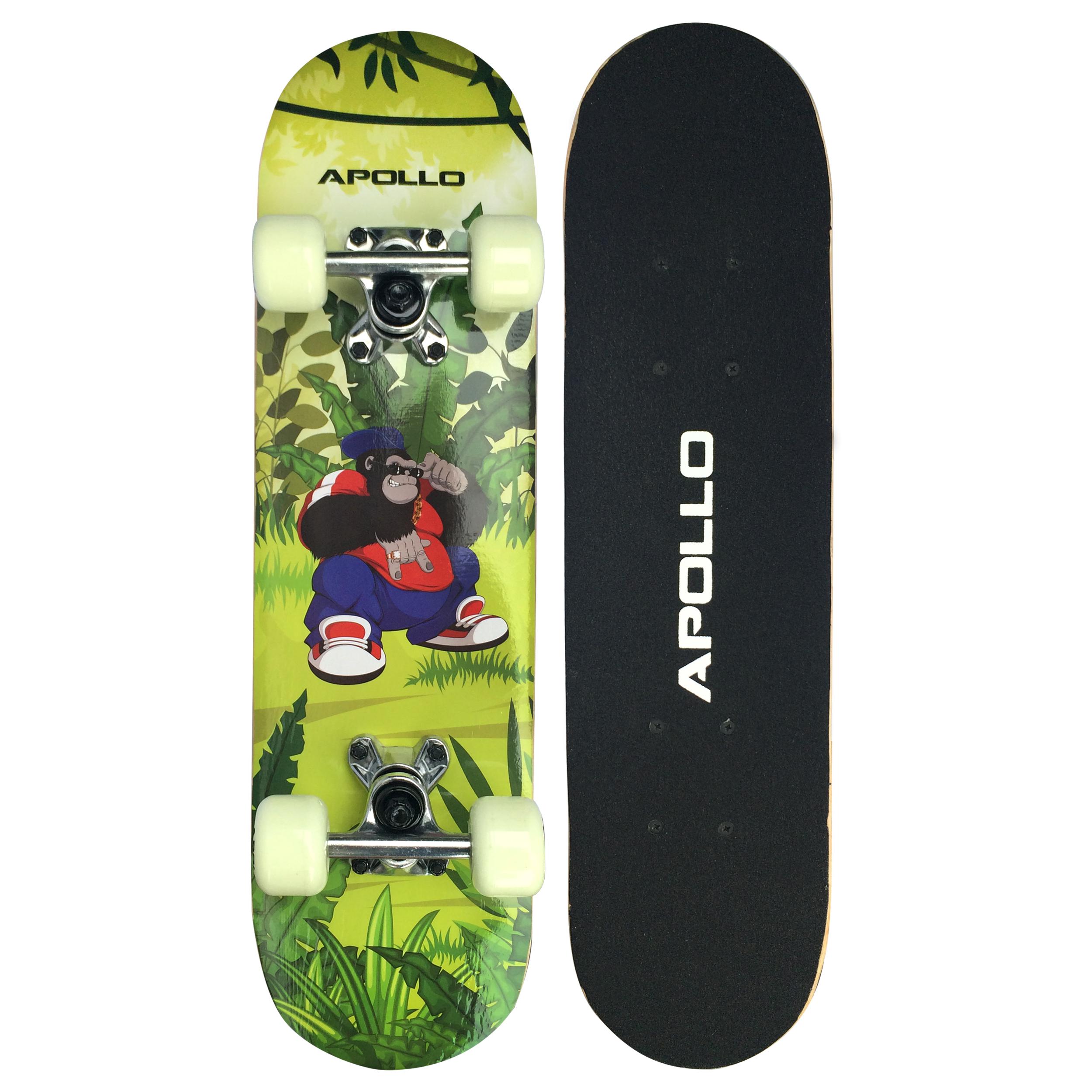 apollo skateboard skate board kinder funboard skater
