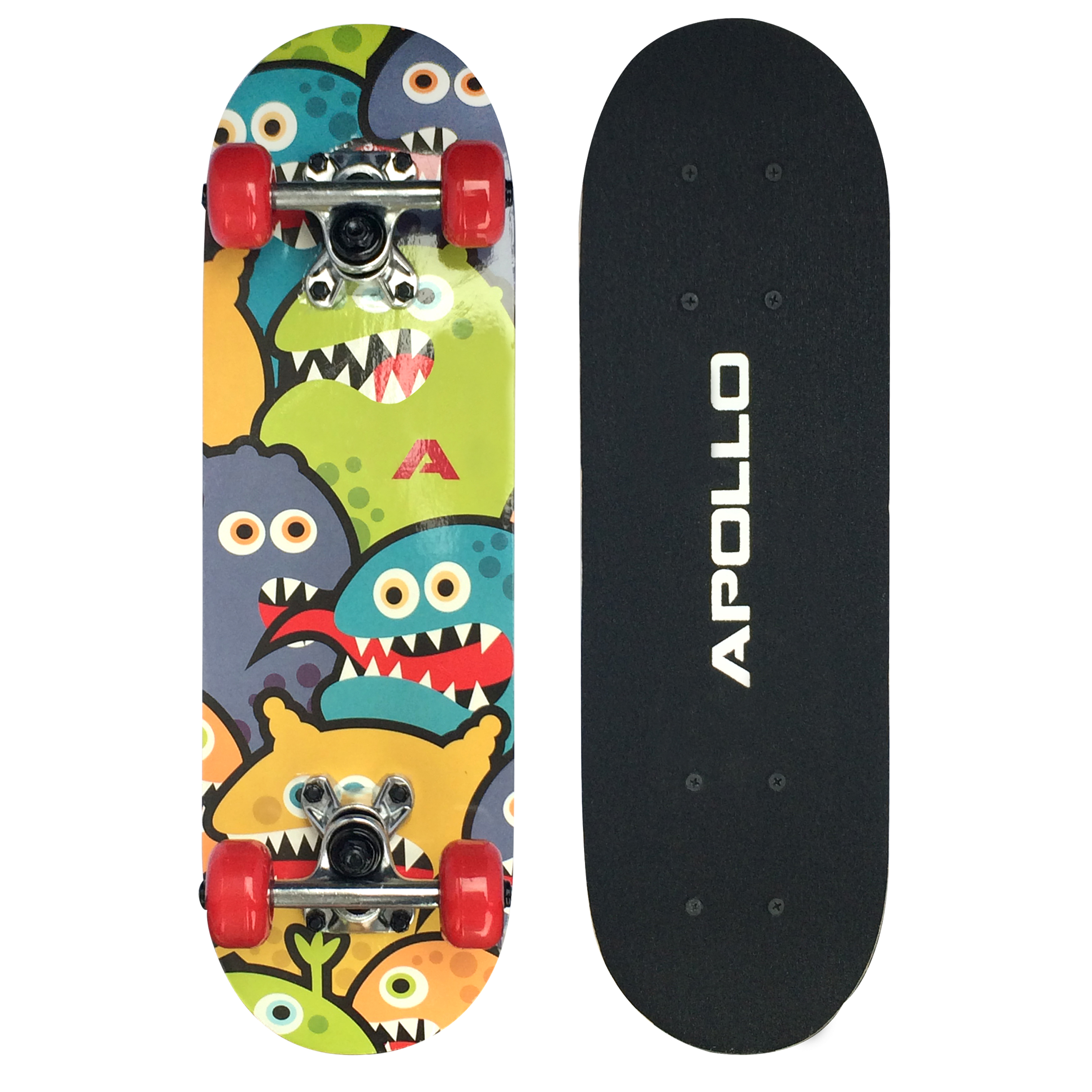 apollo skateboard skate board kinder funboard skater longboard komplettboard ebay. Black Bedroom Furniture Sets. Home Design Ideas