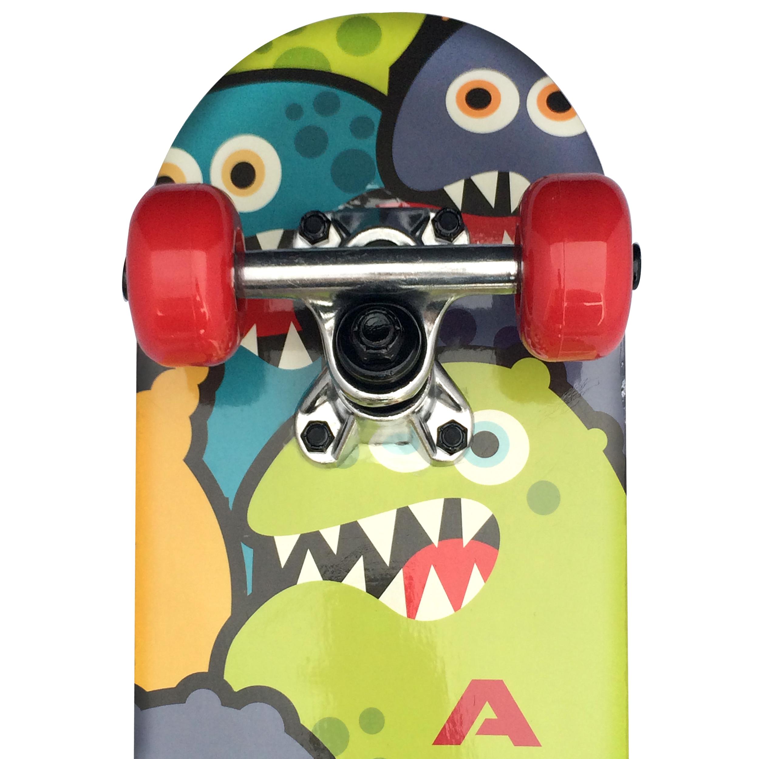 apollo skateboard monsterskate kinderskateboard 51cm. Black Bedroom Furniture Sets. Home Design Ideas