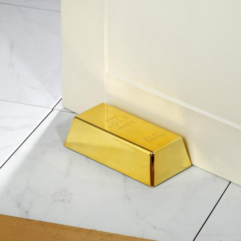 In Gold we trust - Luxus Trstopper \&quot;Goldbarren\&quot;-Gold fr ihre Lieben