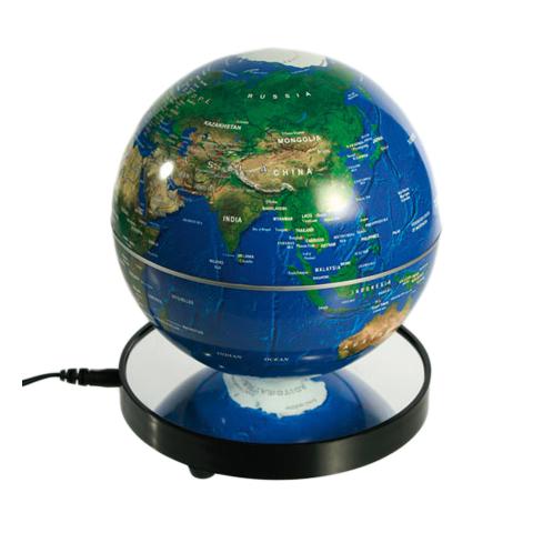Leuchtender und sich drehender LED Globus 15cm