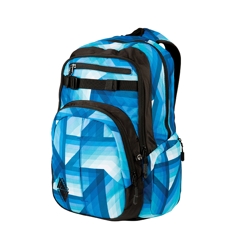 nitro chase pack rucksack tasche backpack 35 l farbe geo ocean blau ebay. Black Bedroom Furniture Sets. Home Design Ideas