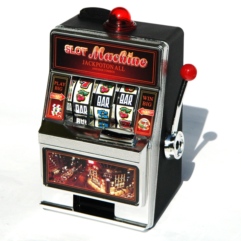 Slot Machine Spardose