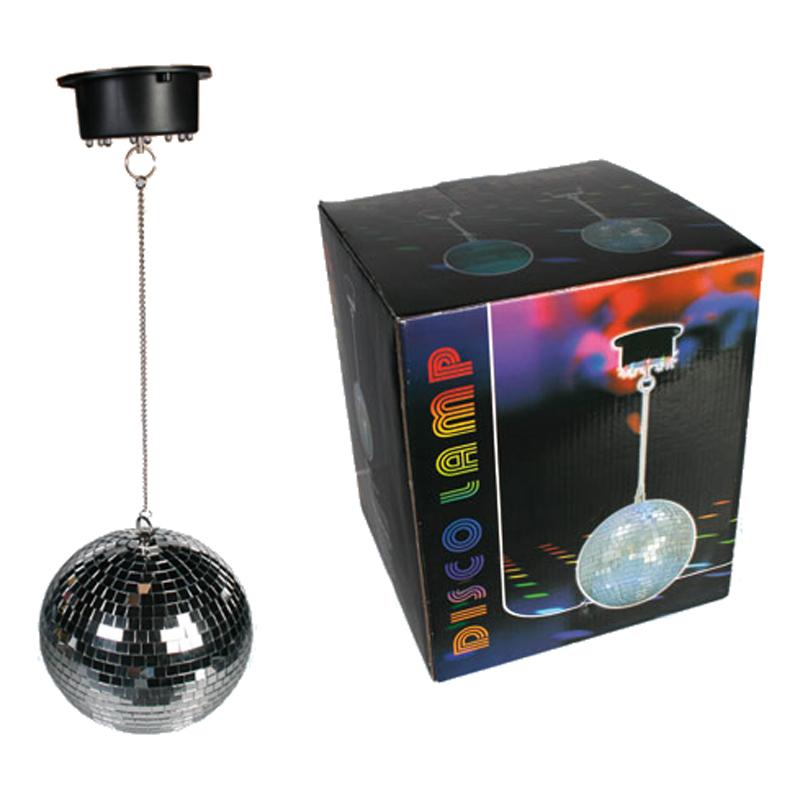 spiegelball discokugel party dekolicht lampe leuchte 8 led beleuchtung ebay. Black Bedroom Furniture Sets. Home Design Ideas
