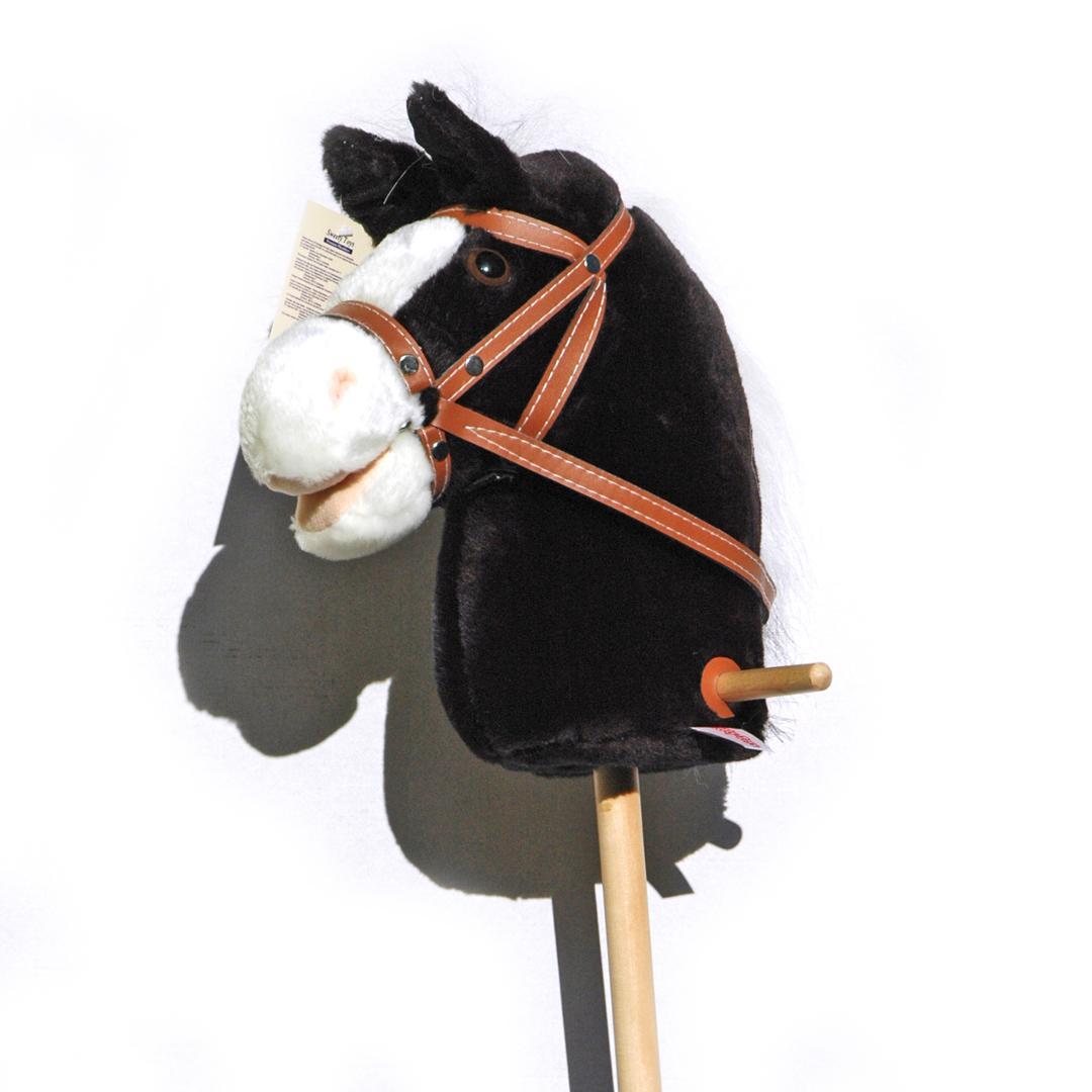steckenpferd mit sound f r kinder cowboy stecken pferdchen reitpferd pferd ebay. Black Bedroom Furniture Sets. Home Design Ideas