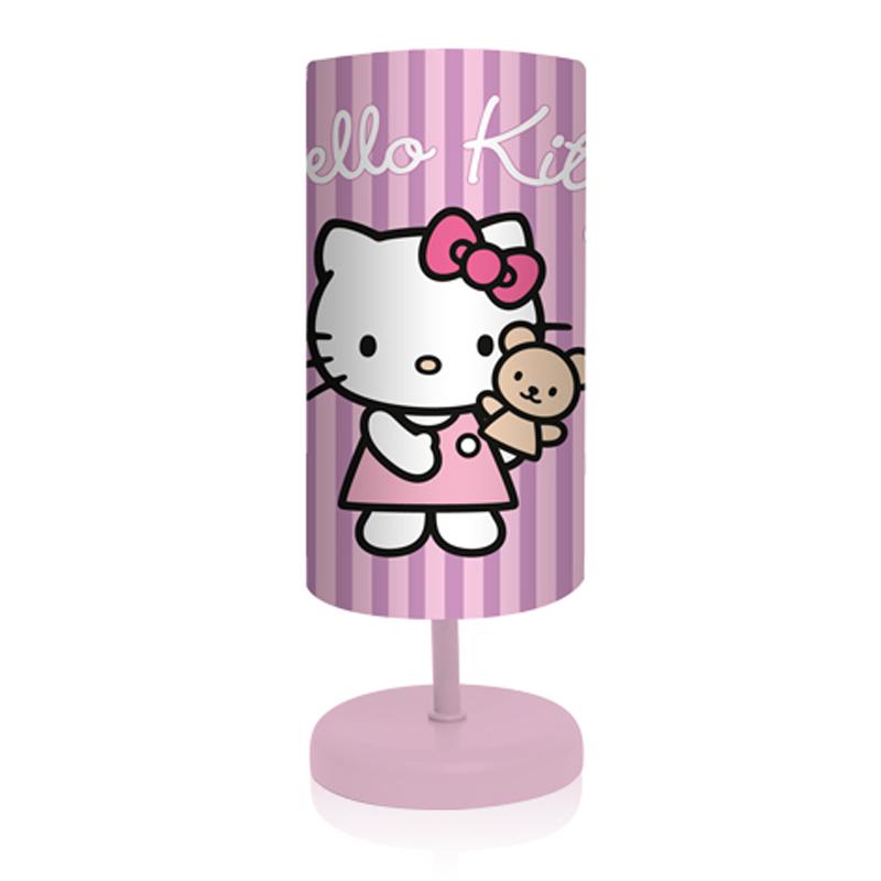 hello kitty rosa stehlampe nachtlicht tischlampe lampe. Black Bedroom Furniture Sets. Home Design Ideas
