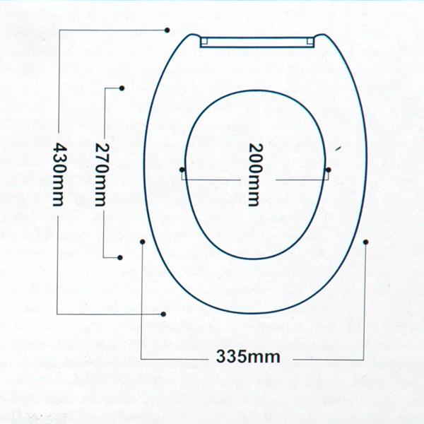 wc sitz mit absenkautomatik wei klobrille toilettendeckel klodeckel ebay. Black Bedroom Furniture Sets. Home Design Ideas