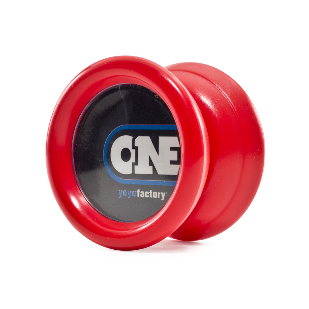 Yoyo Factory ONE red Anfänger Jojo rot mit extra Kugellager