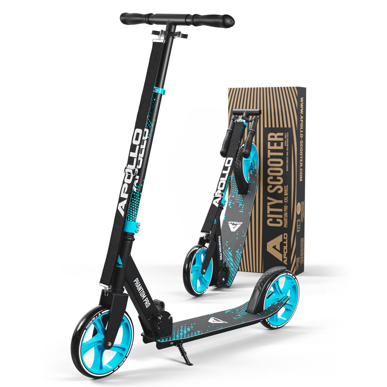 Apollo City Scooter Phantom Pro - Blau