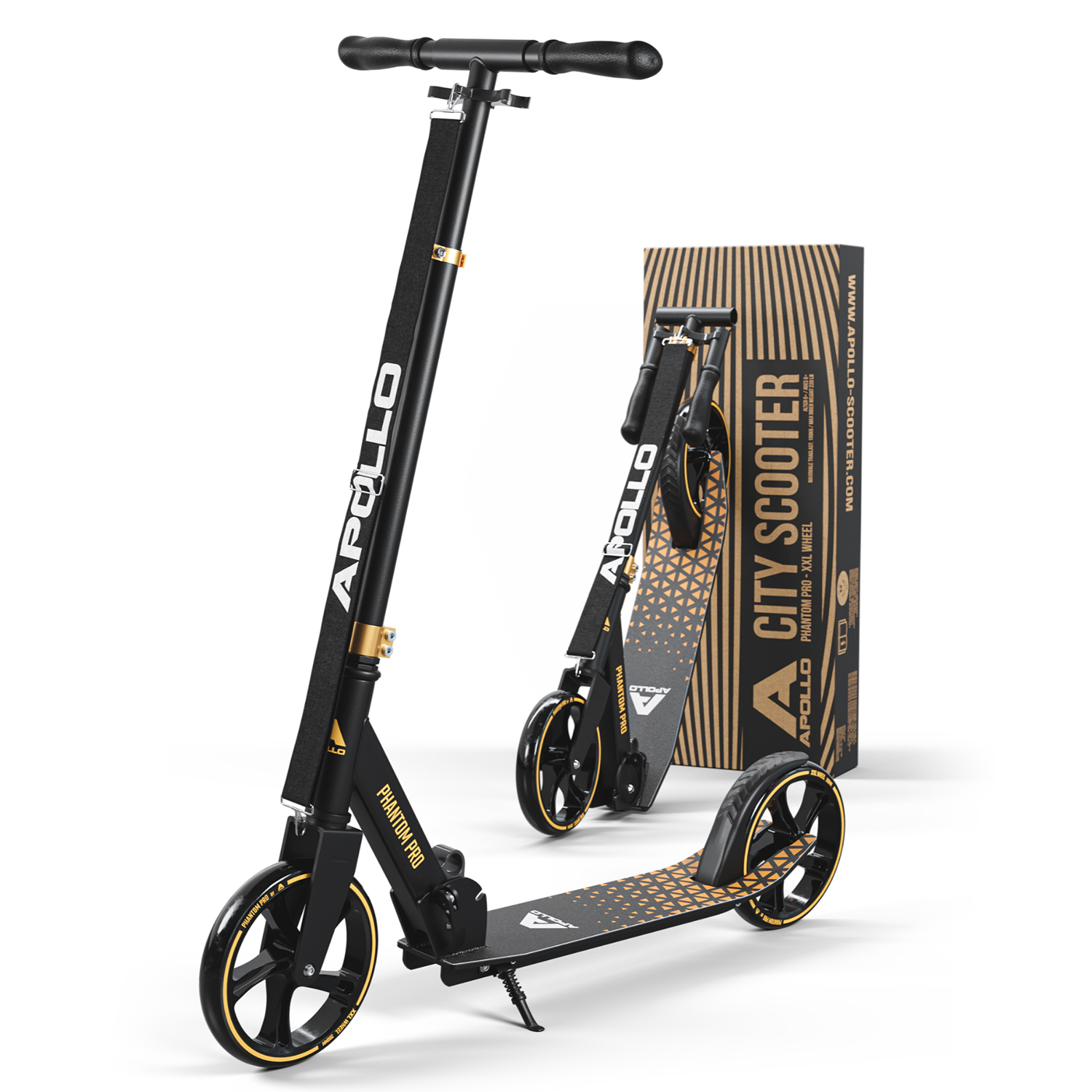 City Scooter Phantom Pro - Gold