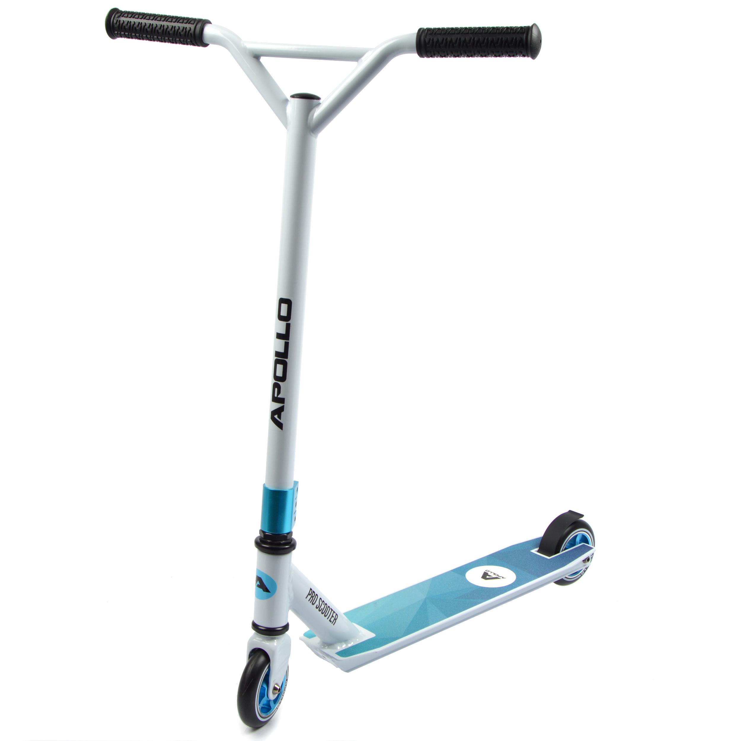 Apollo Stunt Scooter - Genius Pro - White/Blue