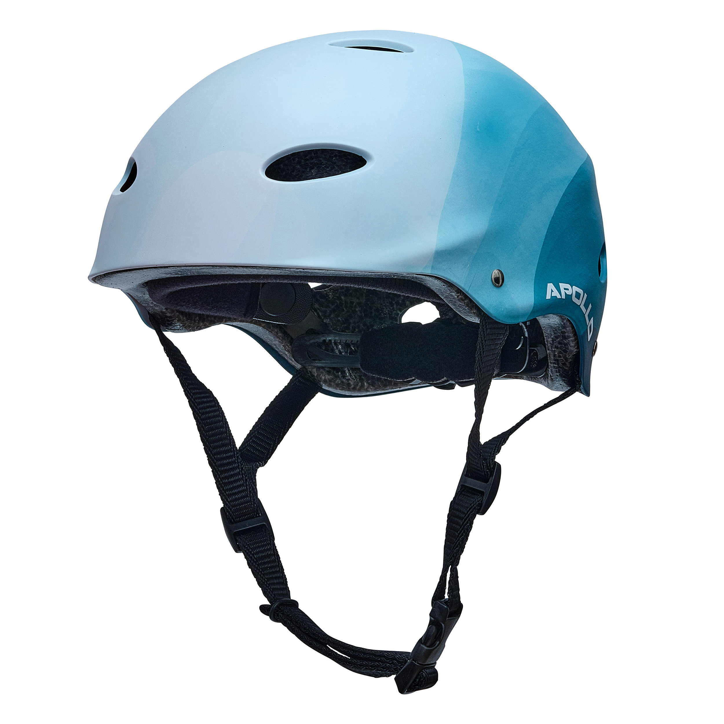 "Apollo Skate-Helm - ""Blue Wave"" Größe S/M verstellbar (48-55 cm)"