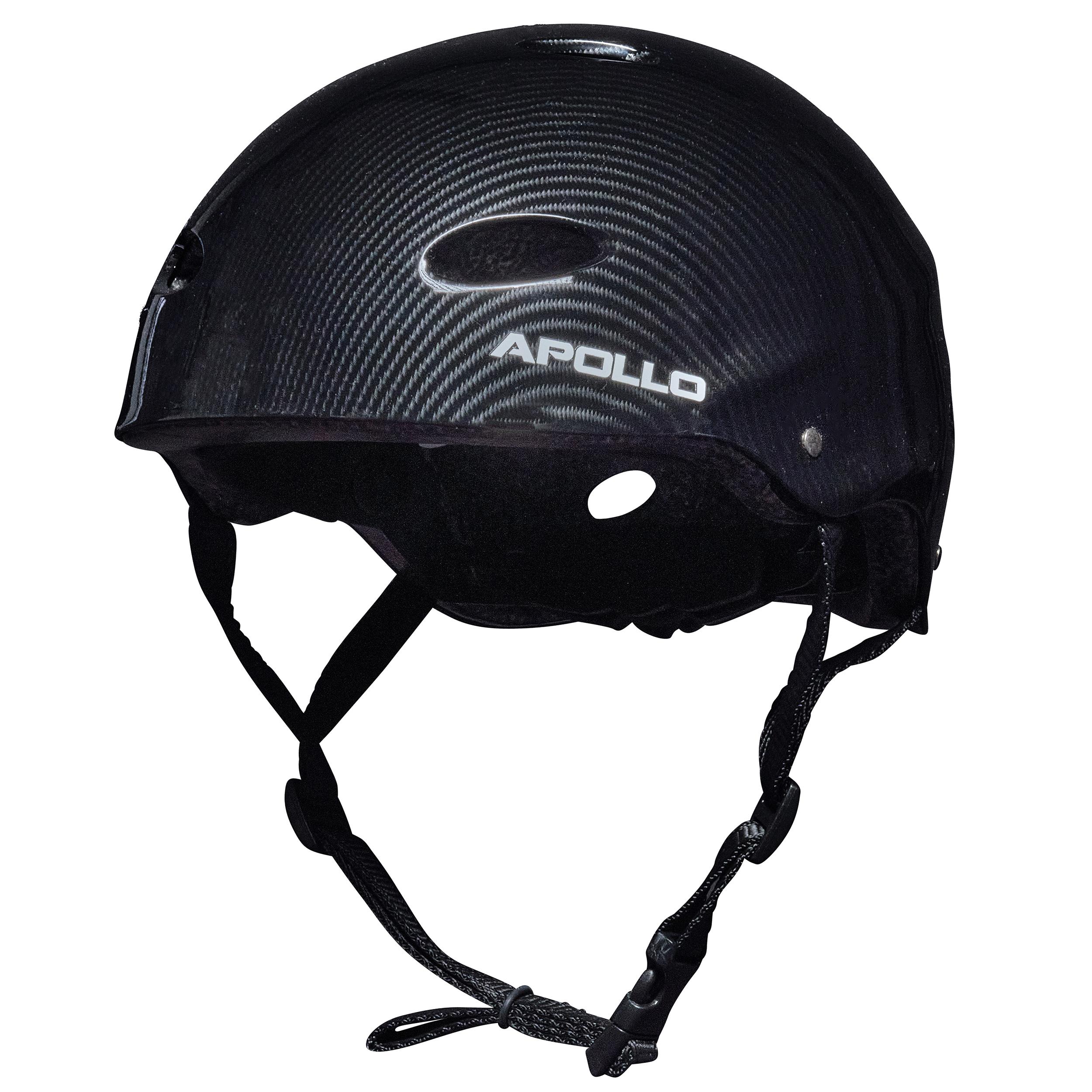 """Apollo Skate-Helm -""""Dark Carbon"""" Größe S/M verstellbar (48-55 cm)"""