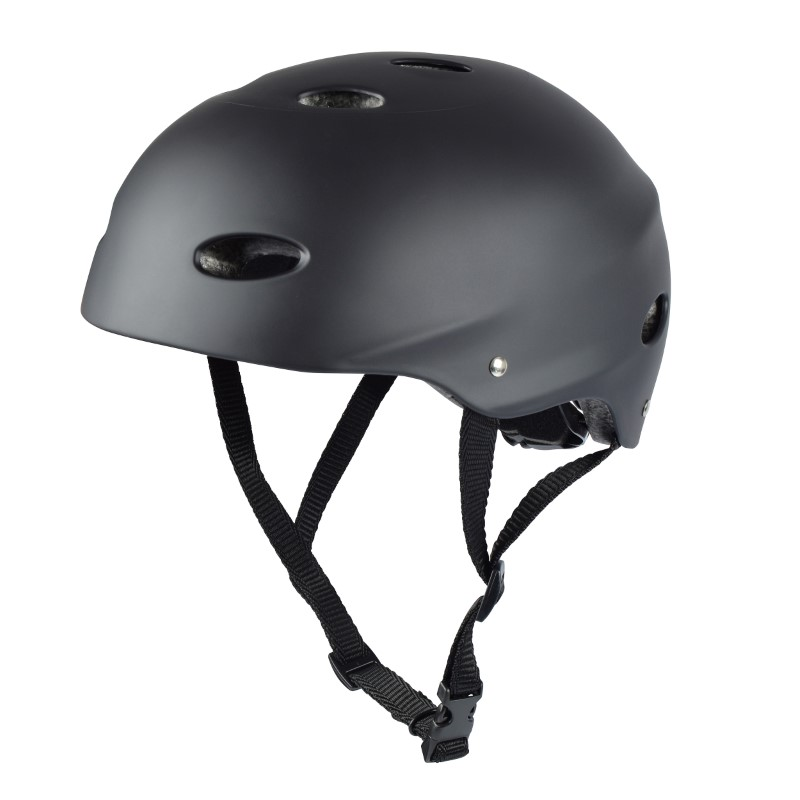Apollo Skatehelm - Medium - Schwarz