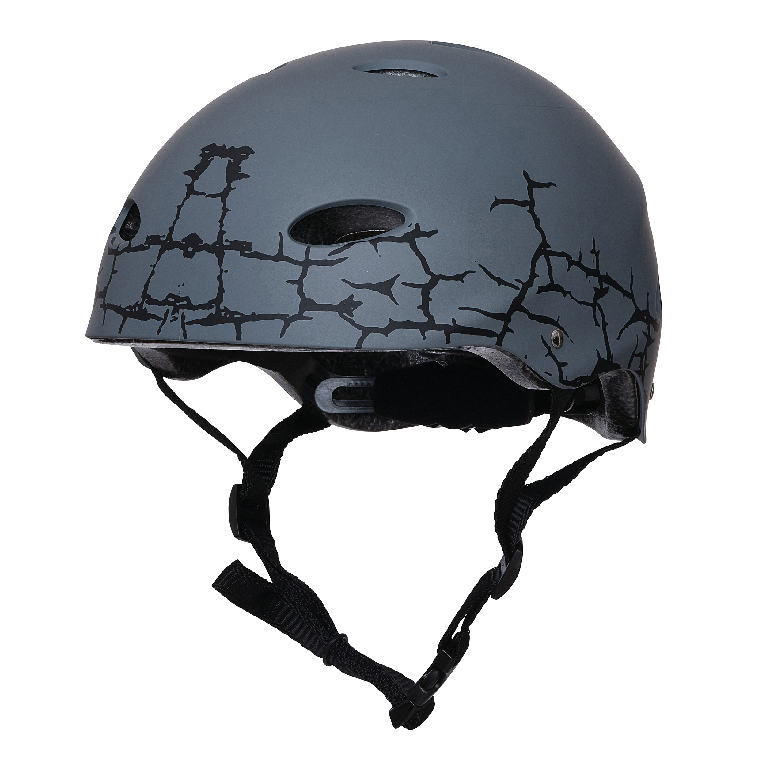 "Apollo Skate-Helm - ""Cracked"" Größe L/XL verstellbar (56-61 cm)"