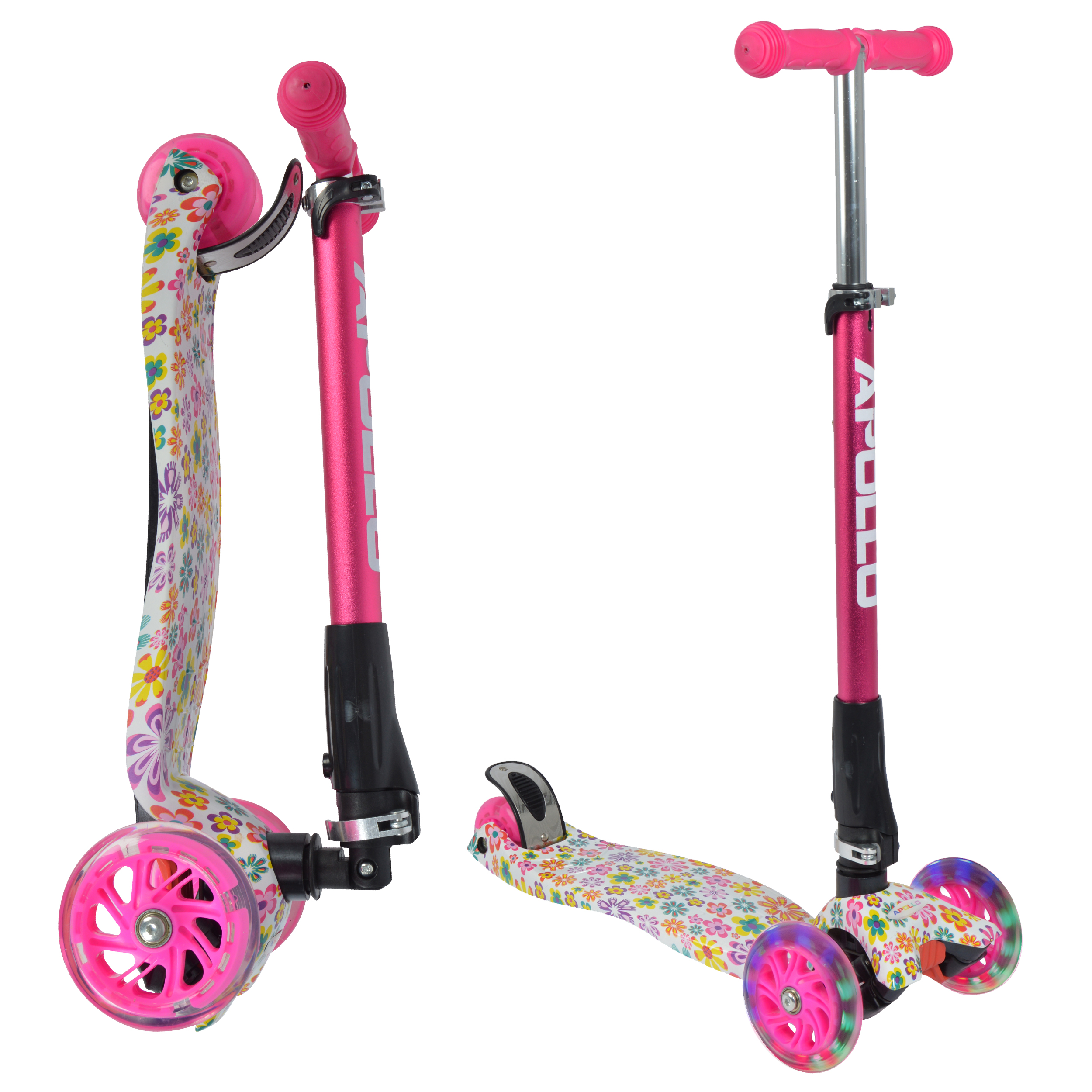 Kinderroller - Kids Whiz - Pink Flower