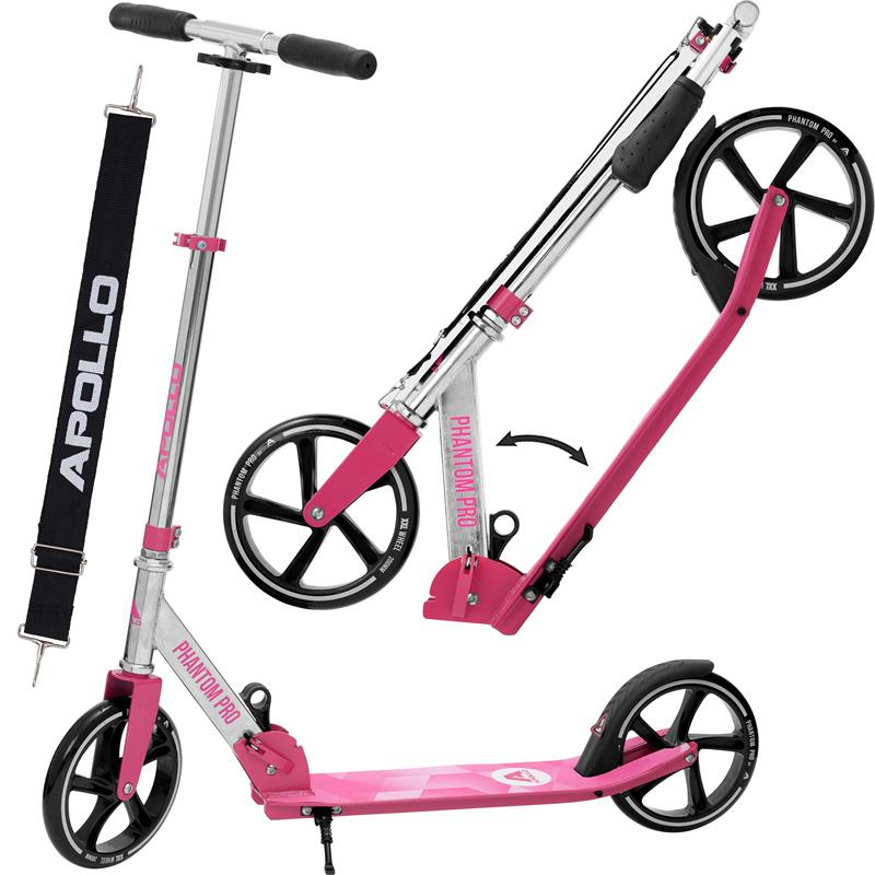 Apollo Phantom City Scooter Pink/Silber