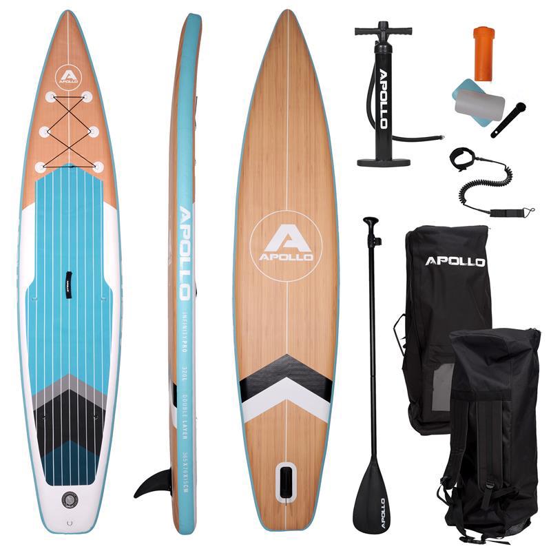 "Apollo SUP Board, Stand Up Paddling Komplettset ""Infinity Pro"" 3,65 m"