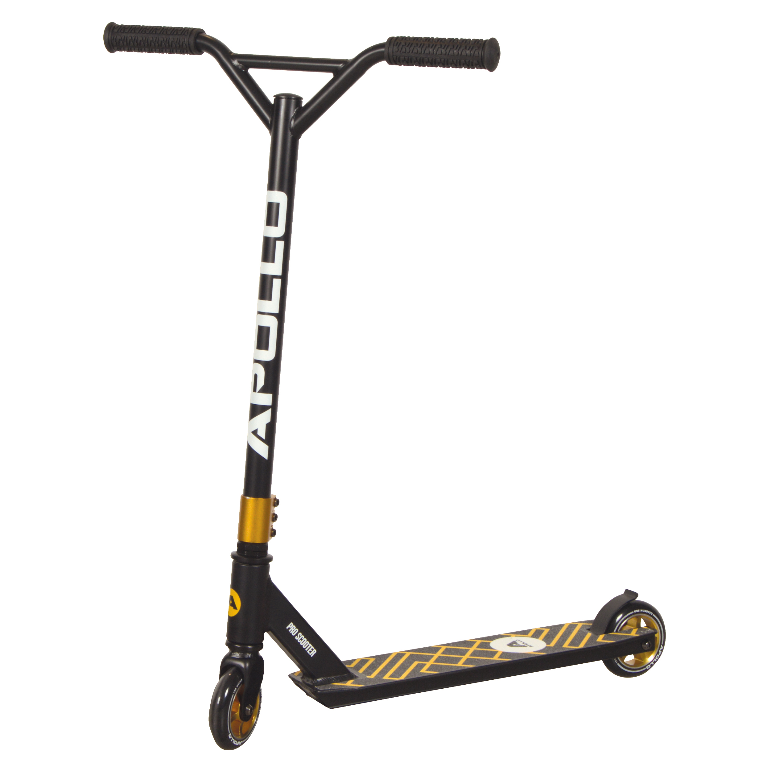 Apollo Stunt Scooter Genius Pro 4.0 - Schwarz/Gold