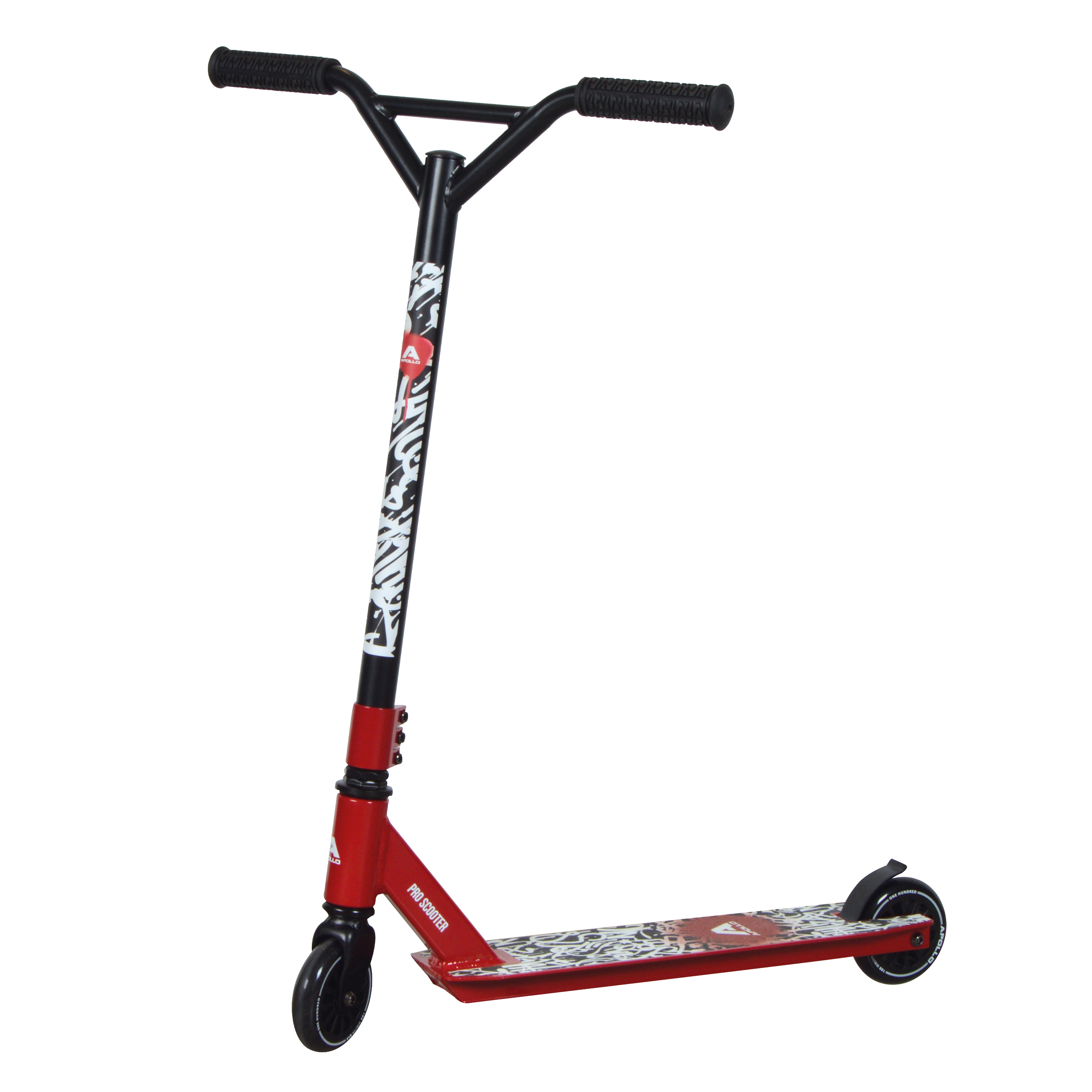 Apollo Stunt Scooter Graffiti Pro 4.0 - Rot