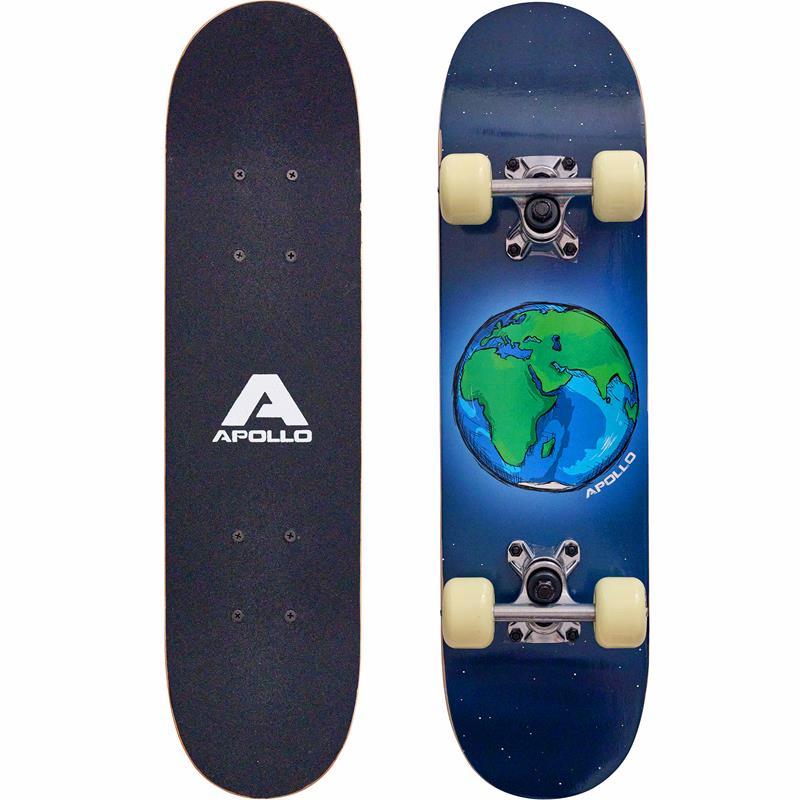 """Apollo Kinderskateboard  """"Around the World"""" 61 cm ABEC 3"""