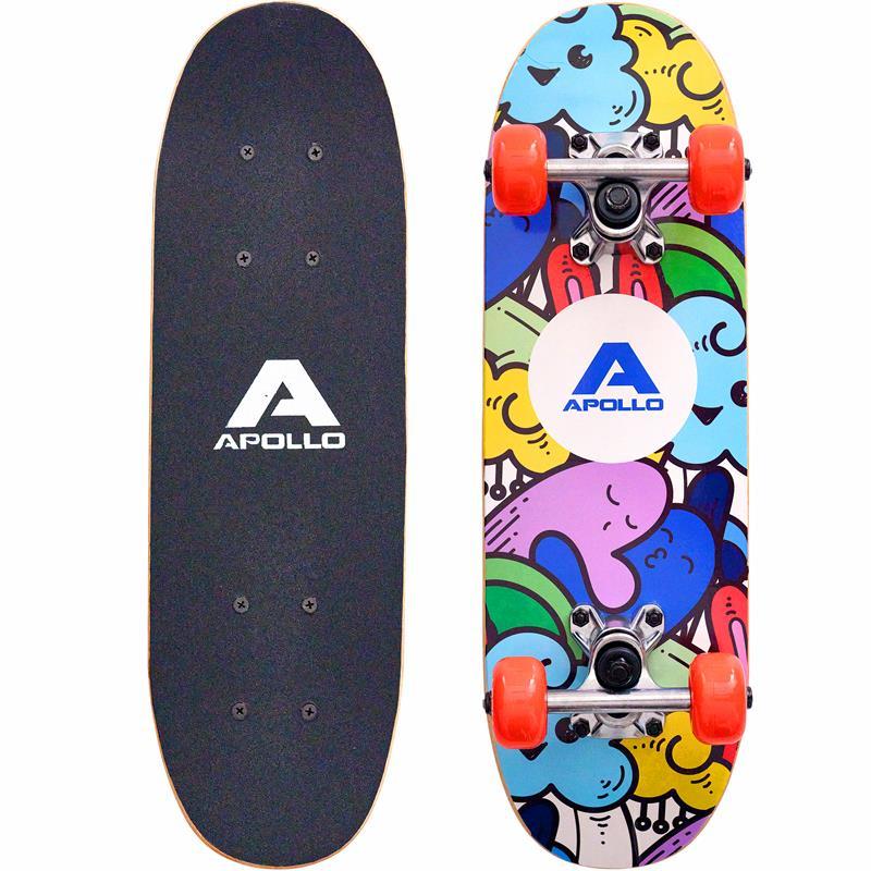 "Apollo Kinderskateboard  ""Fluffy"" 51 cm ABEC 3"
