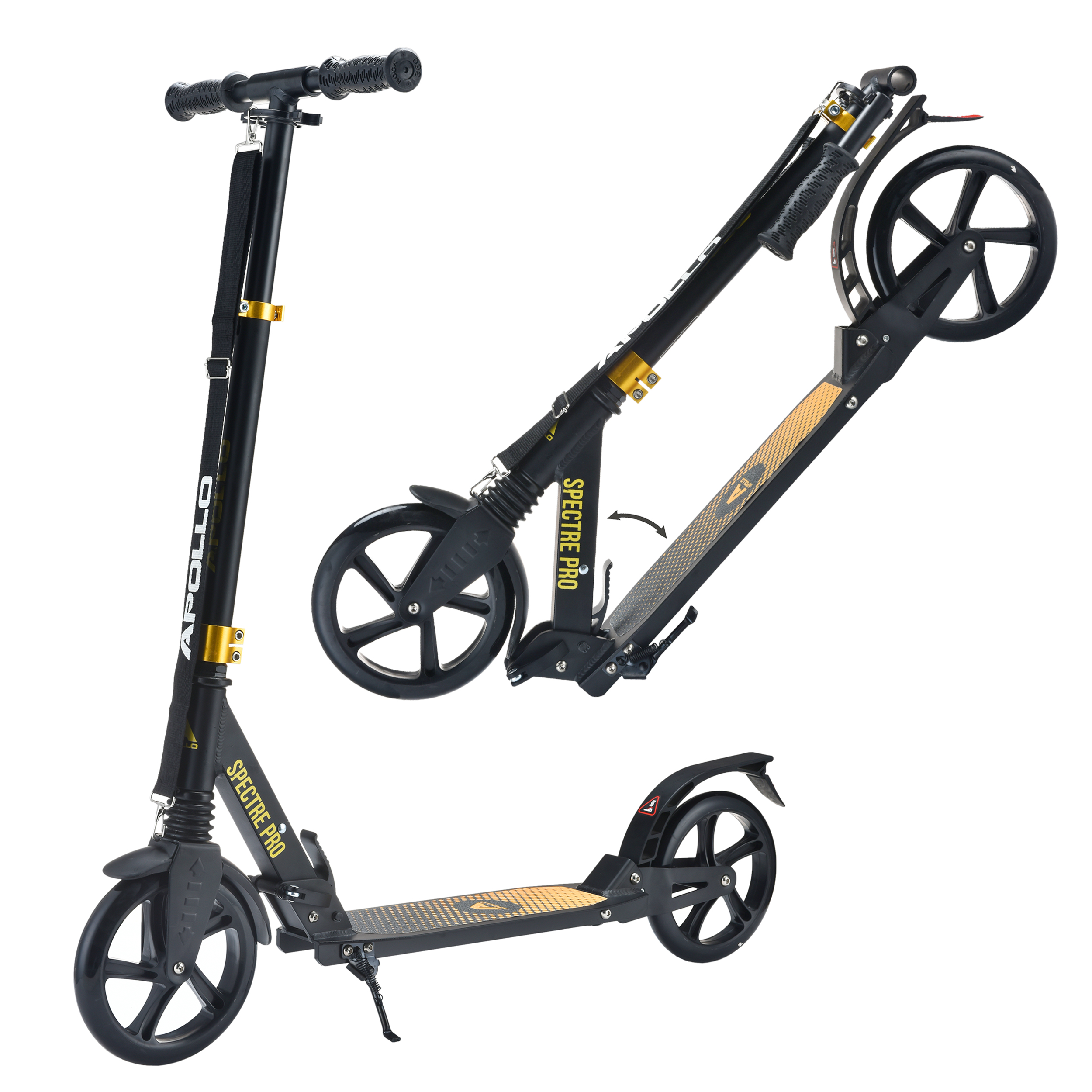 City Scooter - Spectre Pro - Black/Gold