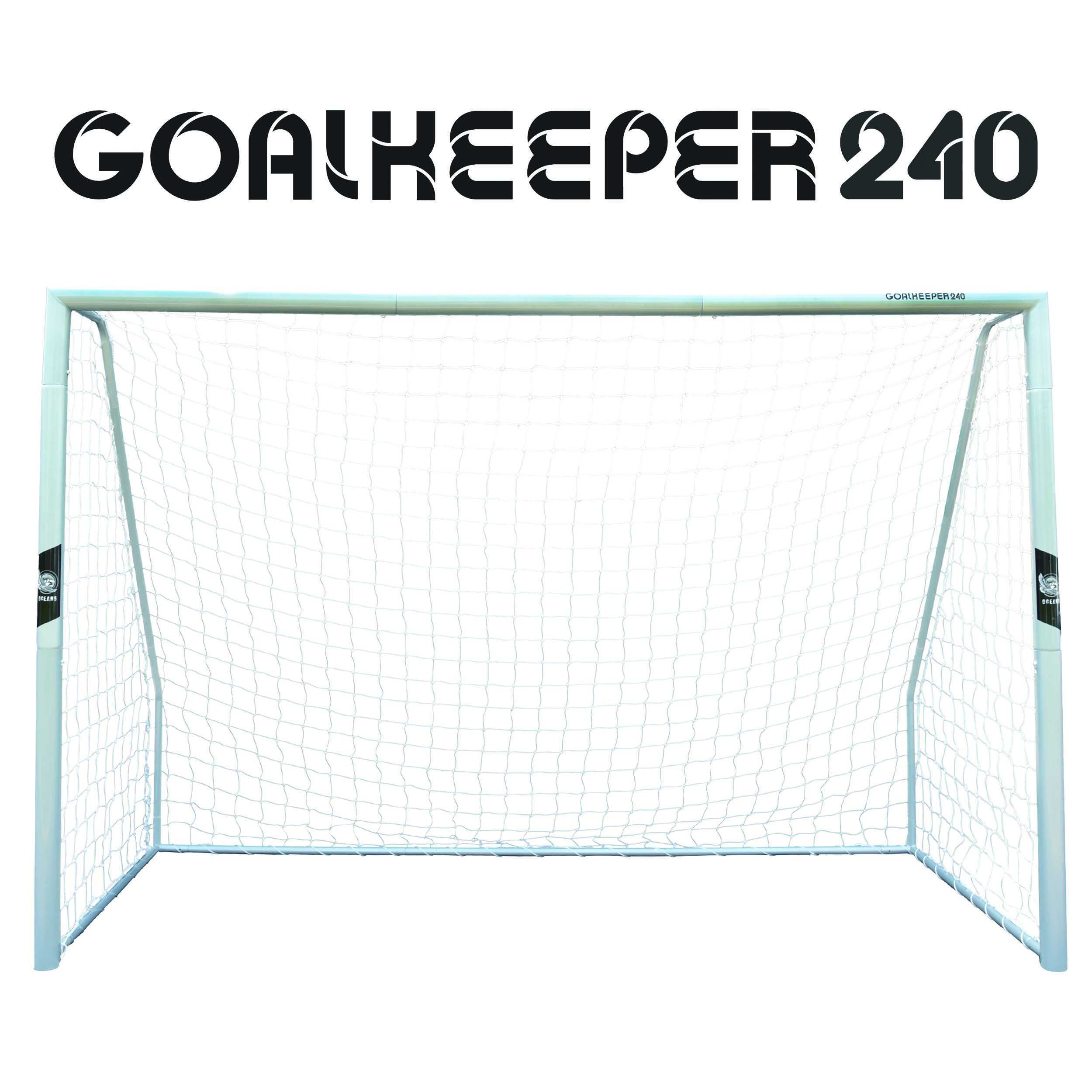 "Ocean5 Stahltor -XXL Fußballtor aus Metall ""Goalkeeper 240"""