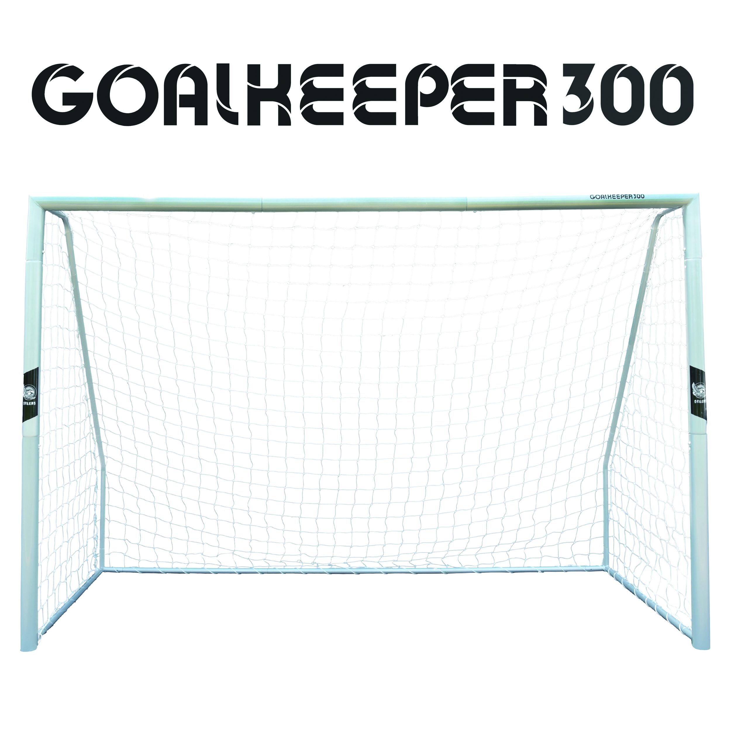 "Ocean5 Stahltor -XXL Fußballtor aus Metall ""Goalkeeper 300"""
