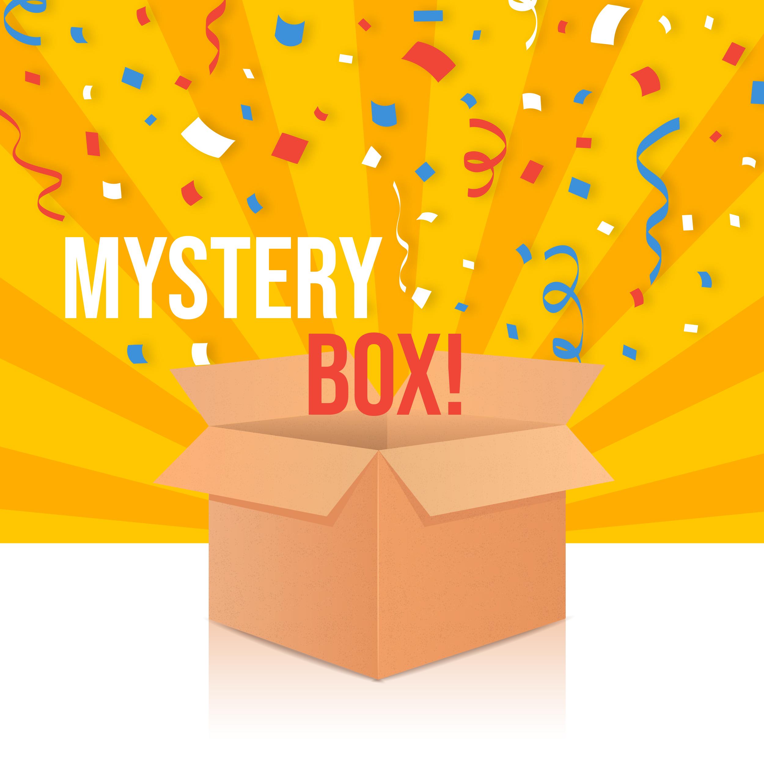 30 teilige Mystery Box – Geschenk Box mit 30 Artikeln