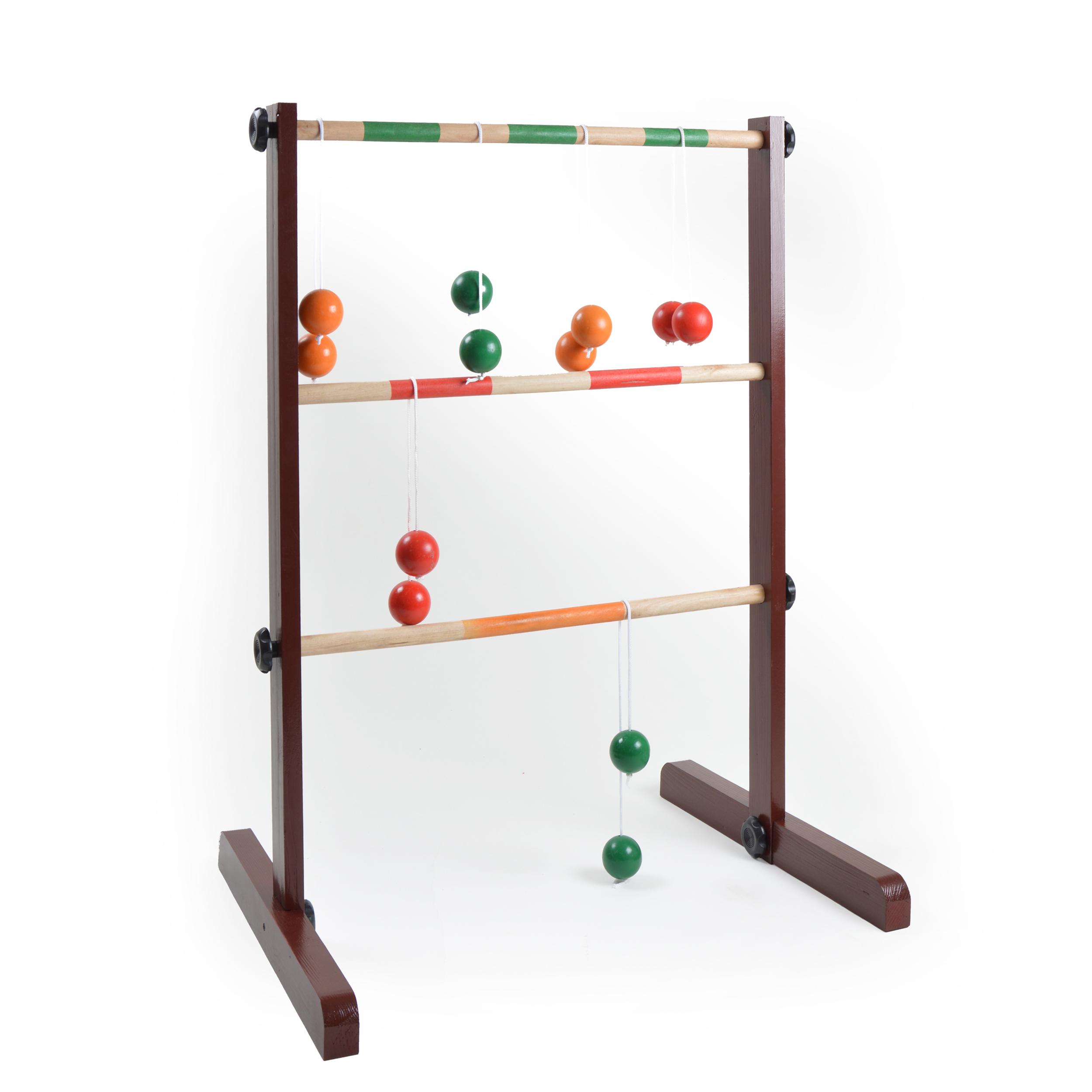 Leitergolf - Original Laddergolf - Wurfspiel Spiel für draußen DUNKEL