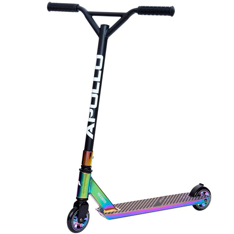 Apollo Stunt Scooter - Genius Pro 4.0 - Rainbow
