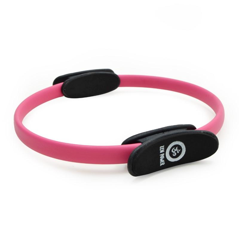Zen Power Pilates/Yoga Ring, Widerstands-Training 38cm, Pink