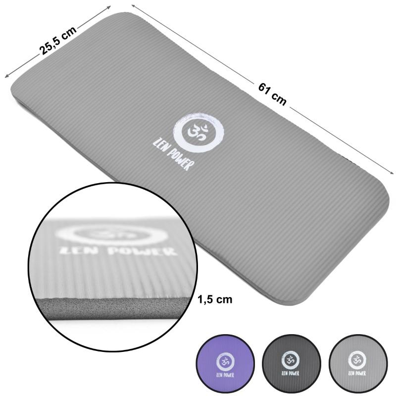 Zen Power Kniematte - Schutzmatte- Farbe: Grau