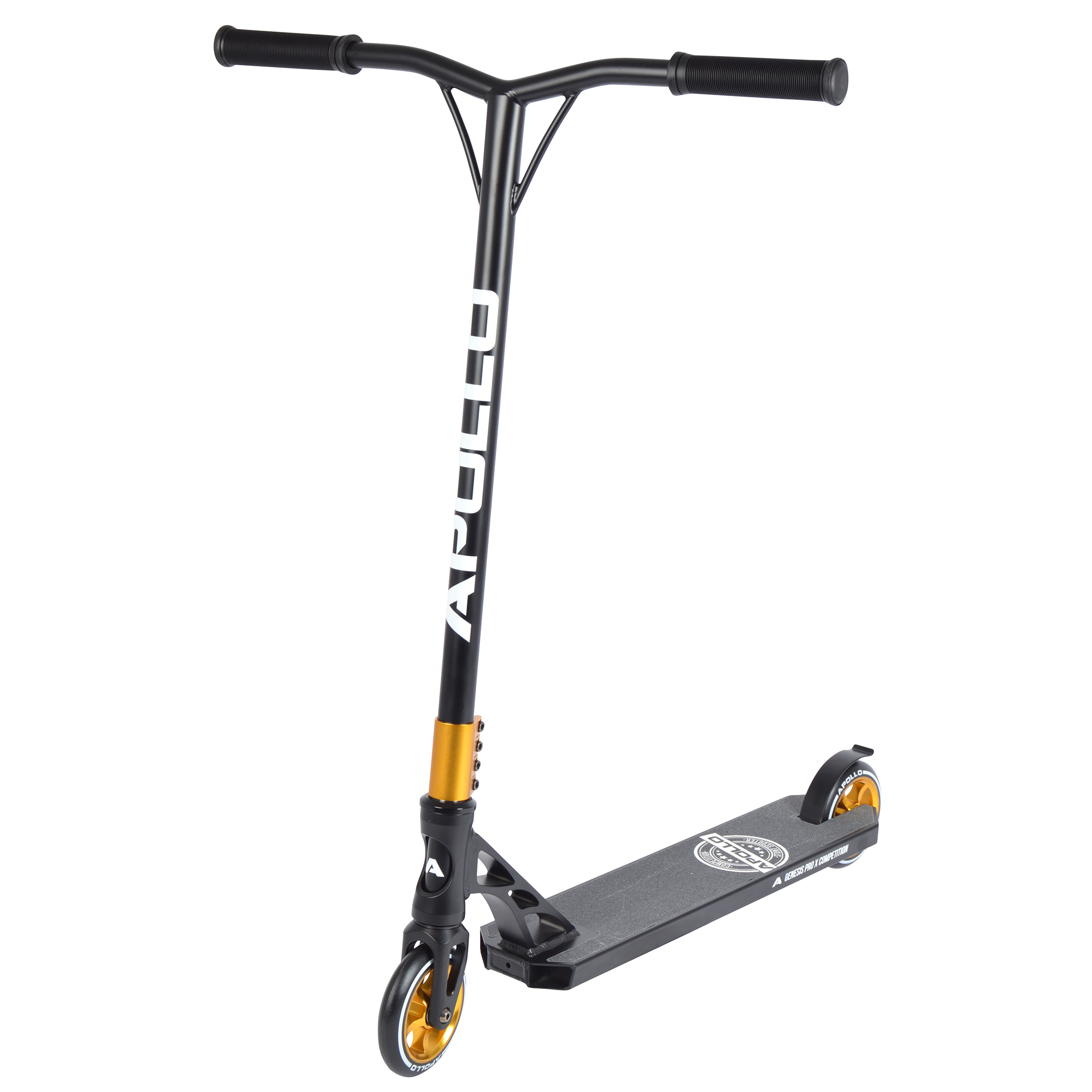Stunt Scooter - Genesis Pro X Competition - Black/Gold