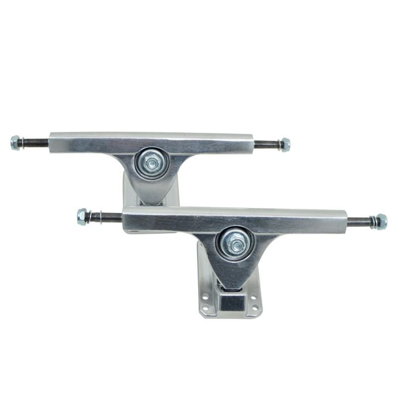 Longboard Achse - FatCat - Silver - 7 Inch / 178 mm Set / Trucks