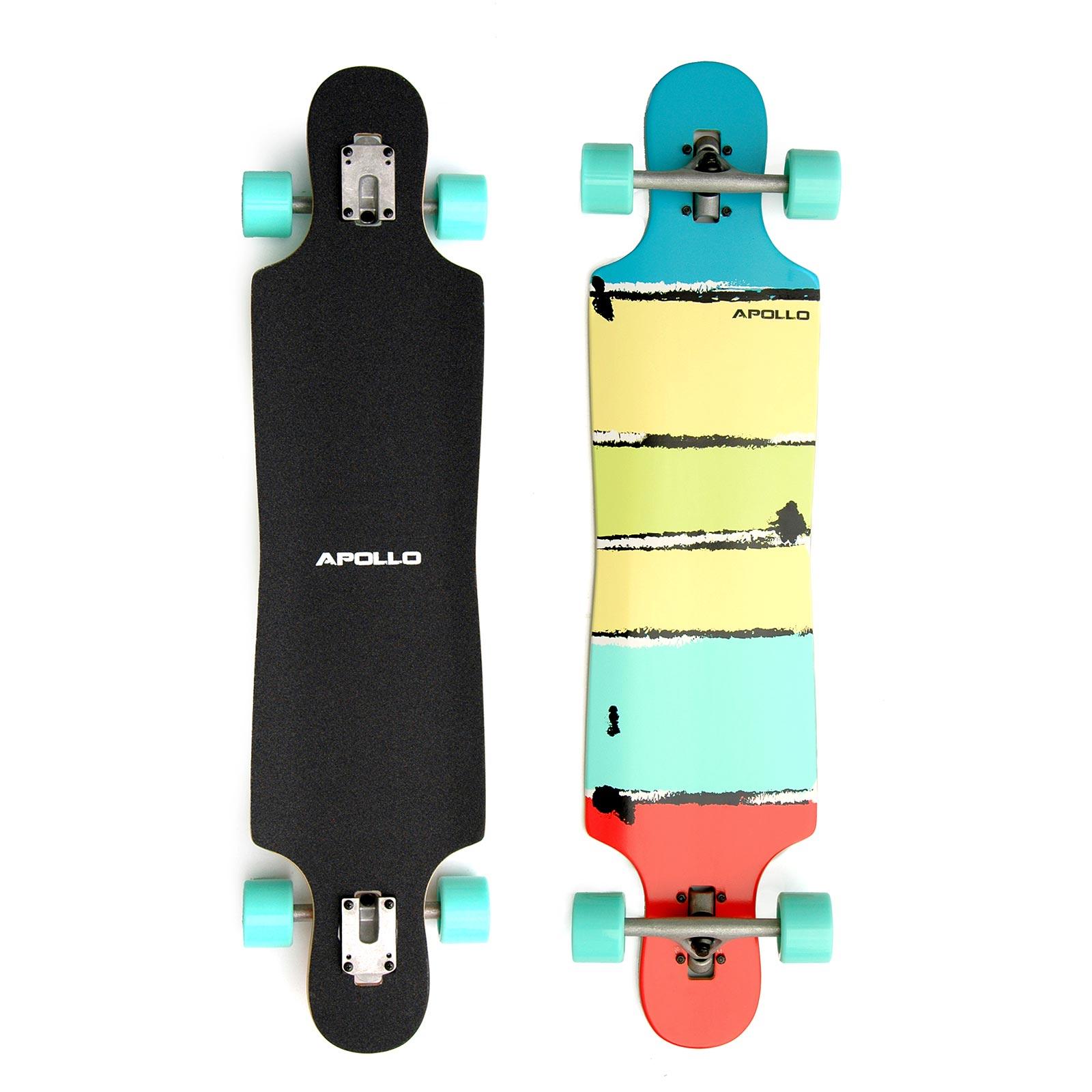 Apollo Maui Colour -Twin Tip DT Longboard Länge 101,8cm Breite 24,2cm