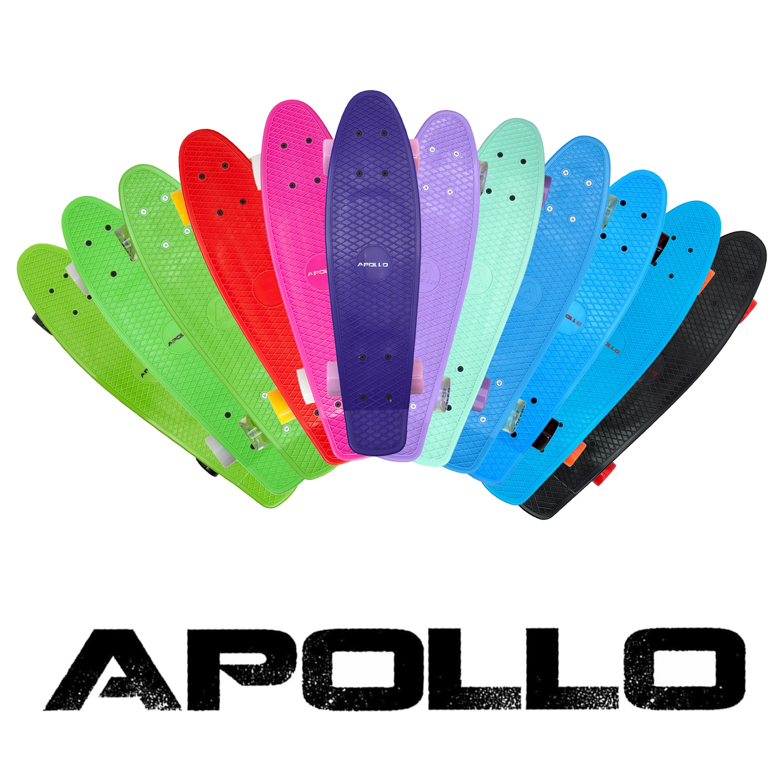 Apollo Penny Style Vintage Cruiser 22,5'' (57,15cm), Skateboard Fancyboard