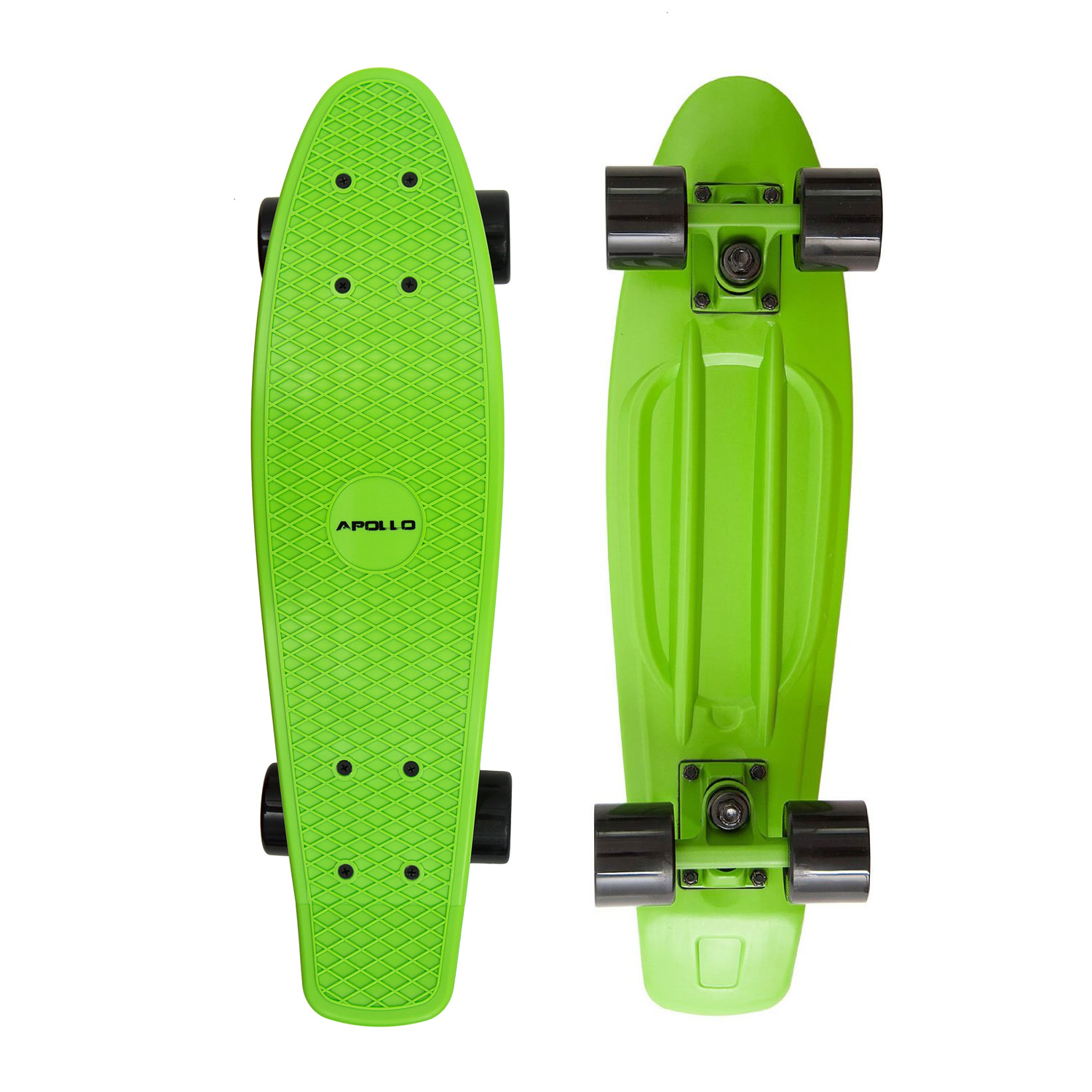 Apollo Fancy Board vintage Cruiser 22,5'' (57,15cm) Farbe: green/black