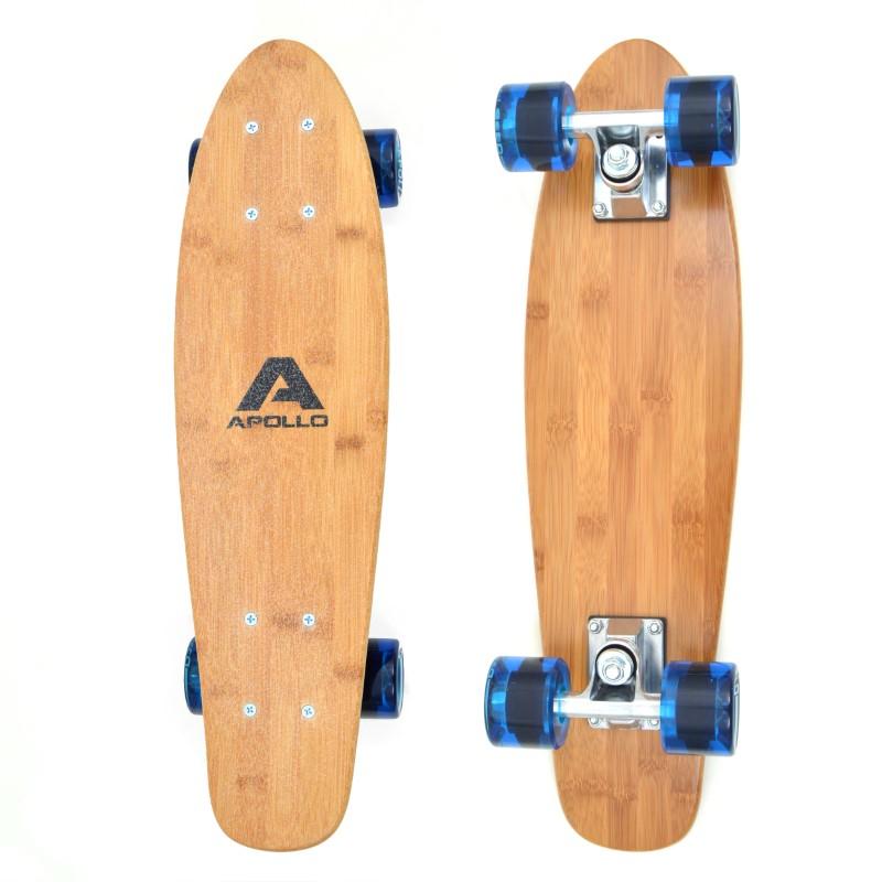 "Apollo Fancy Board Wood - 22"" - Classic Blue"