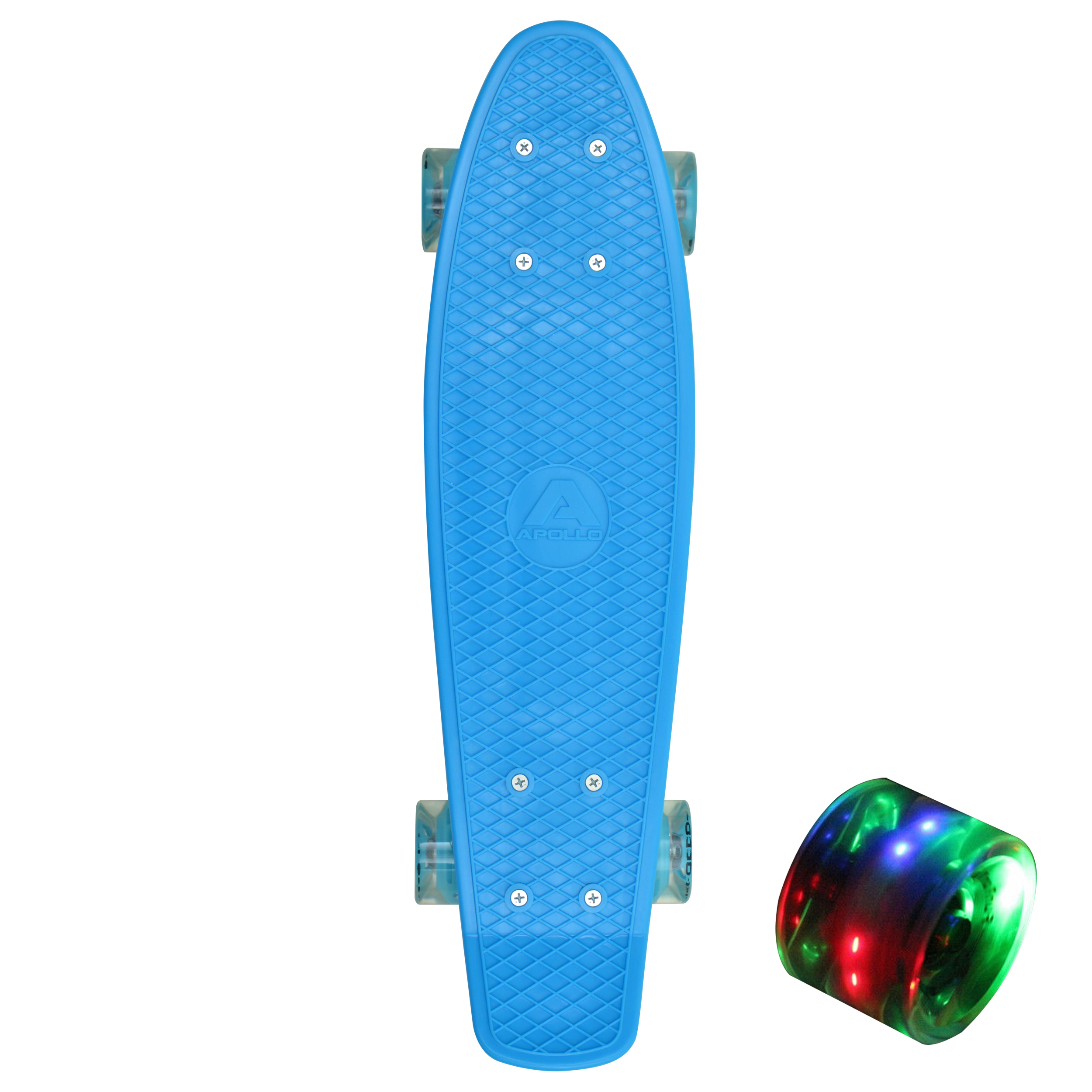"Fancy Board LED - 22"" - Blau"