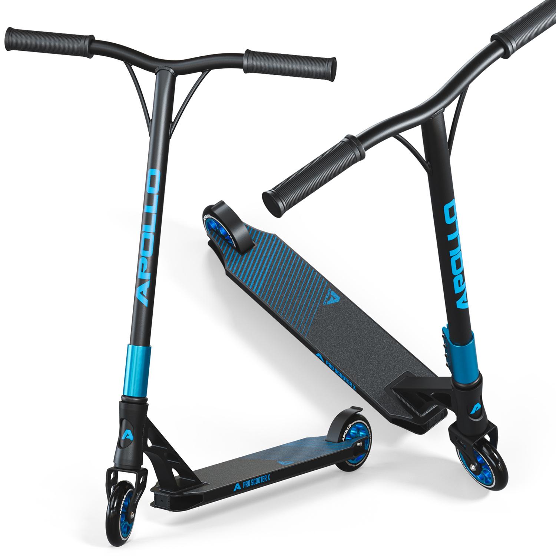 Stunt Scooter - Genesis Pro X - Schwarz/Blau