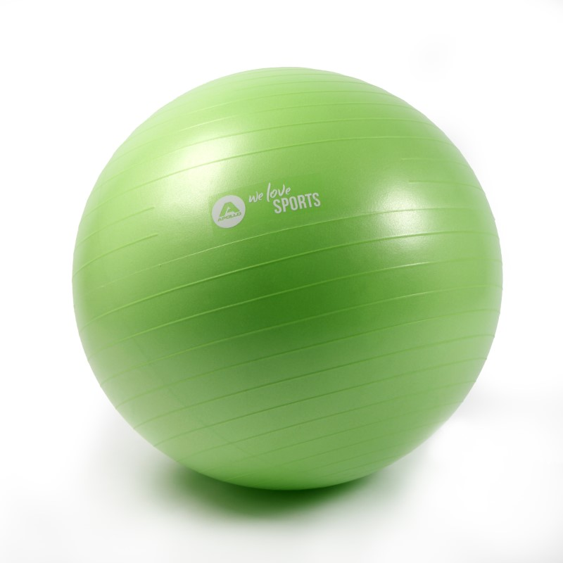 Apollo Anti Burst Gymnastikball Fitnessball - Green - ø 65 cm