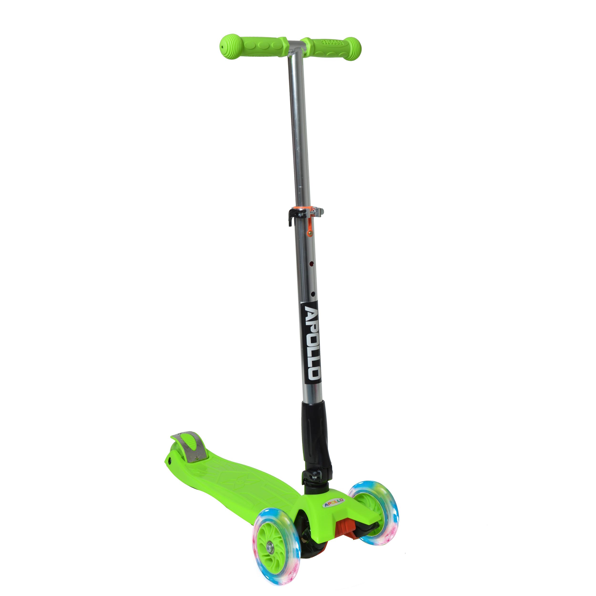 Fun-Scooter für Kinder ab 2 - Grün