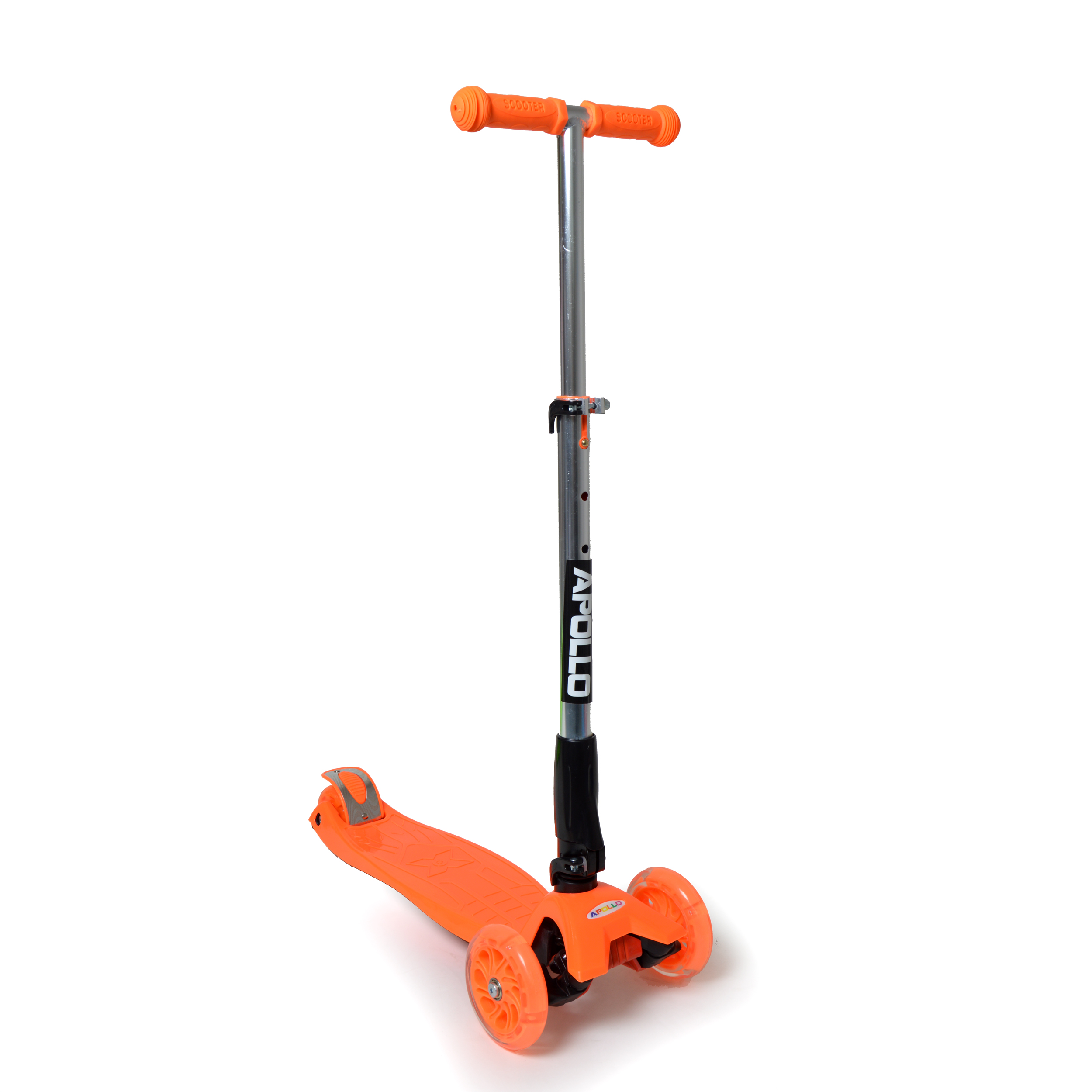 apollo kids go led fun scooter tretroller f r kinder ab. Black Bedroom Furniture Sets. Home Design Ideas