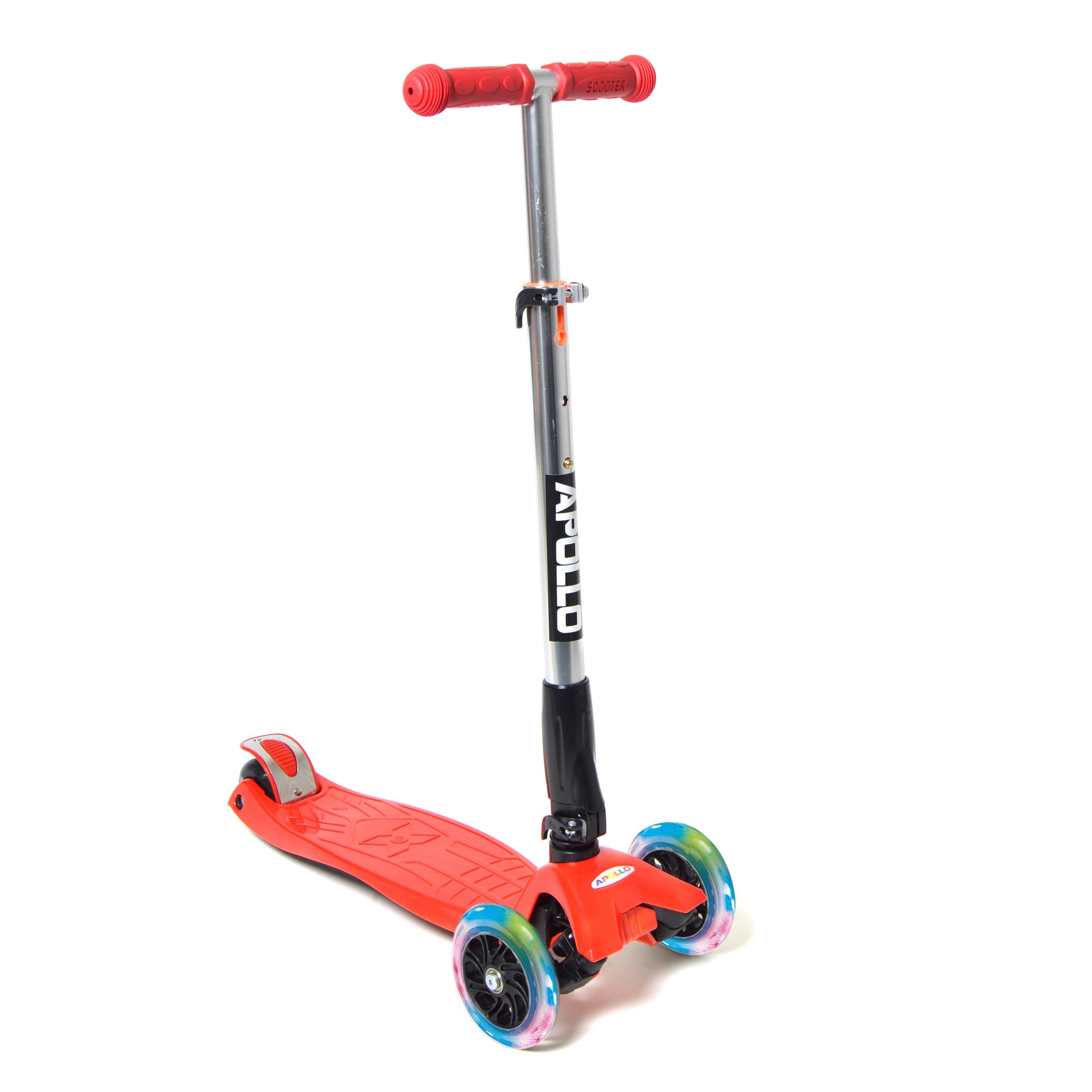 Fun-Scooter für Kinder ab 2 - Rot