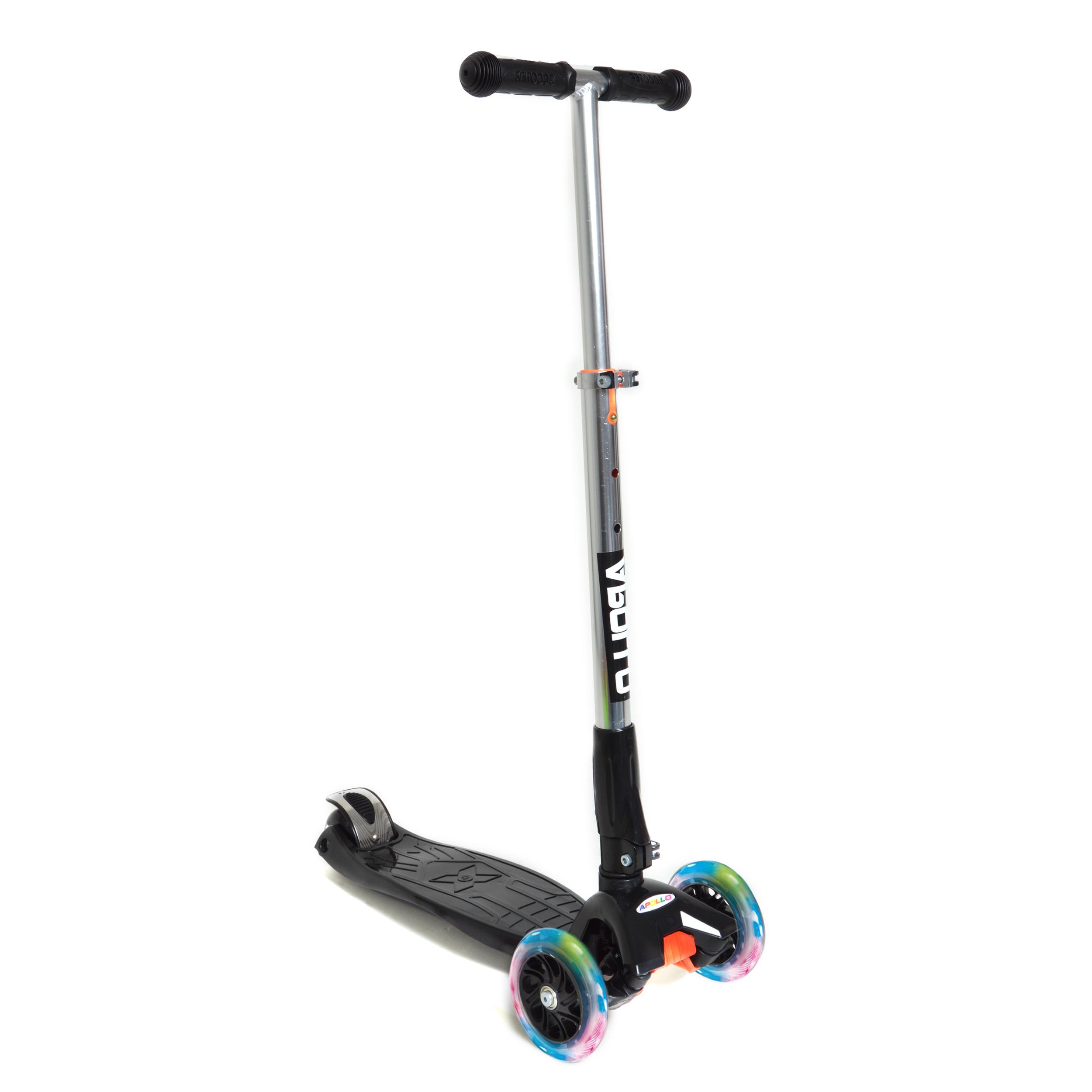 Fun-Scooter für Kinder ab 2 - Schwarz