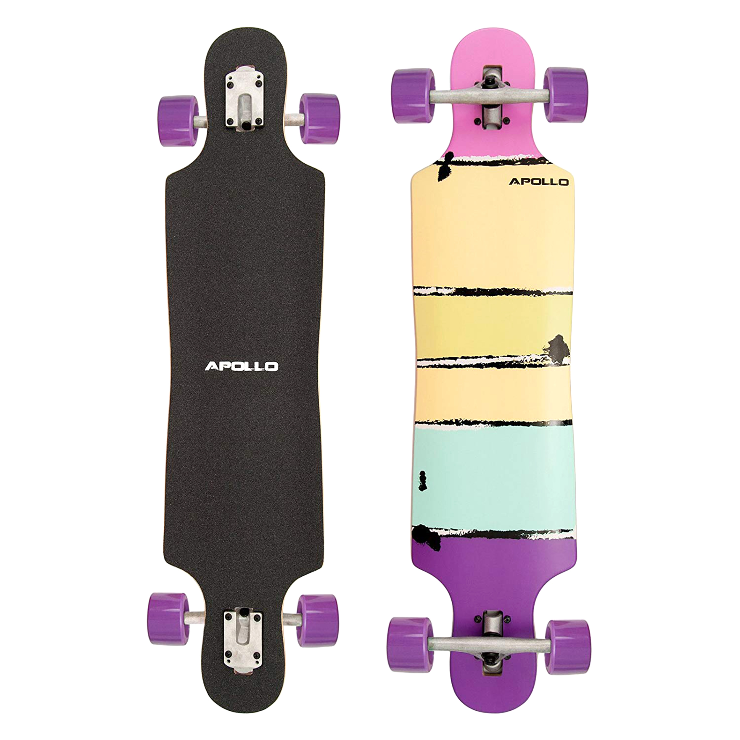 Apollo Papeete Purple Colour - DT Longboard 39 (99cm)